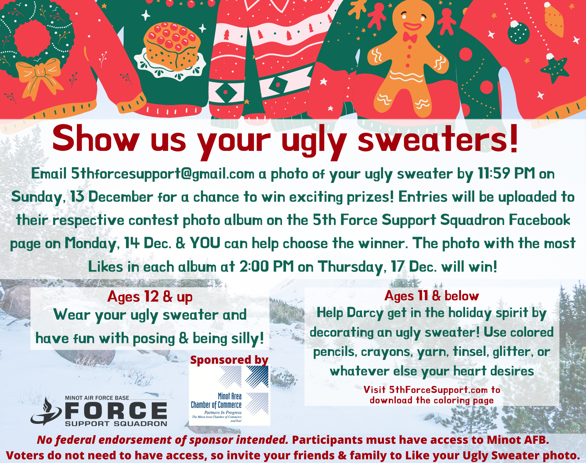 Ugly Sweater - Poster