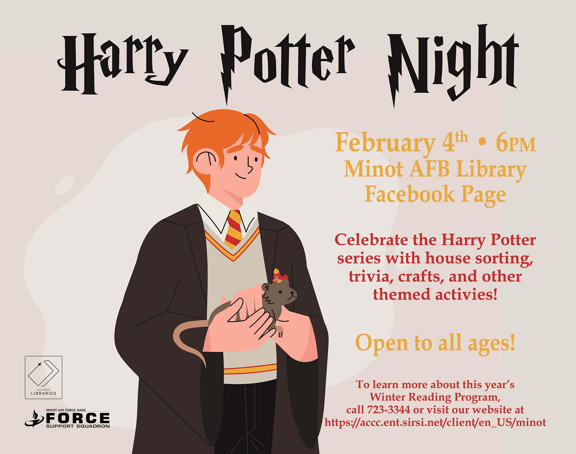 Harry Potter Night - ONLINE