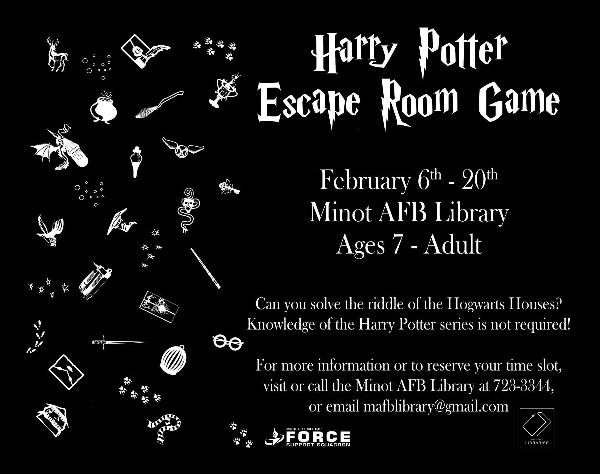 Harry Potter Escape Room Game
