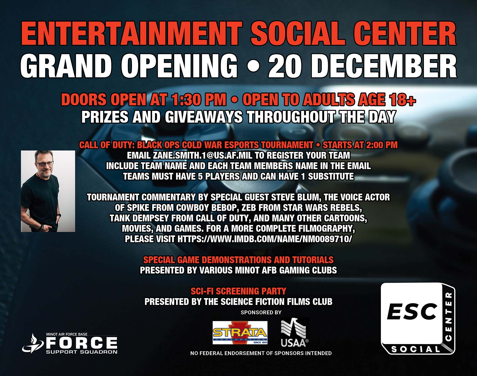 Entertainment Social Center - Grand Opening