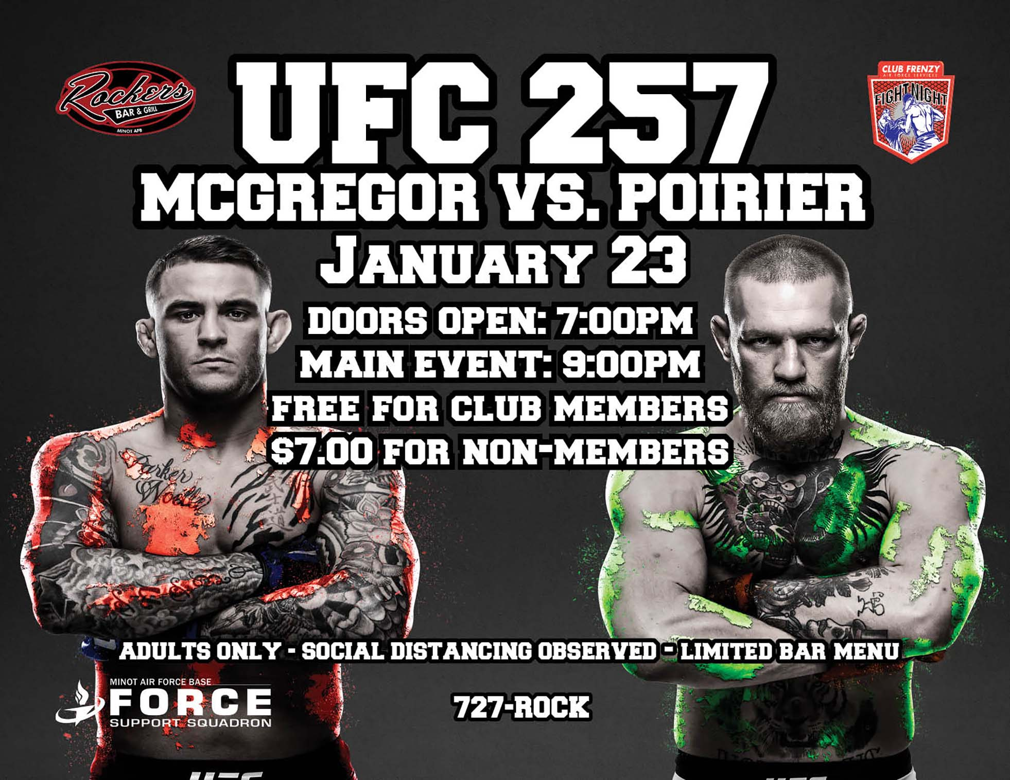 UFC 257: McGregor vs. Poirier