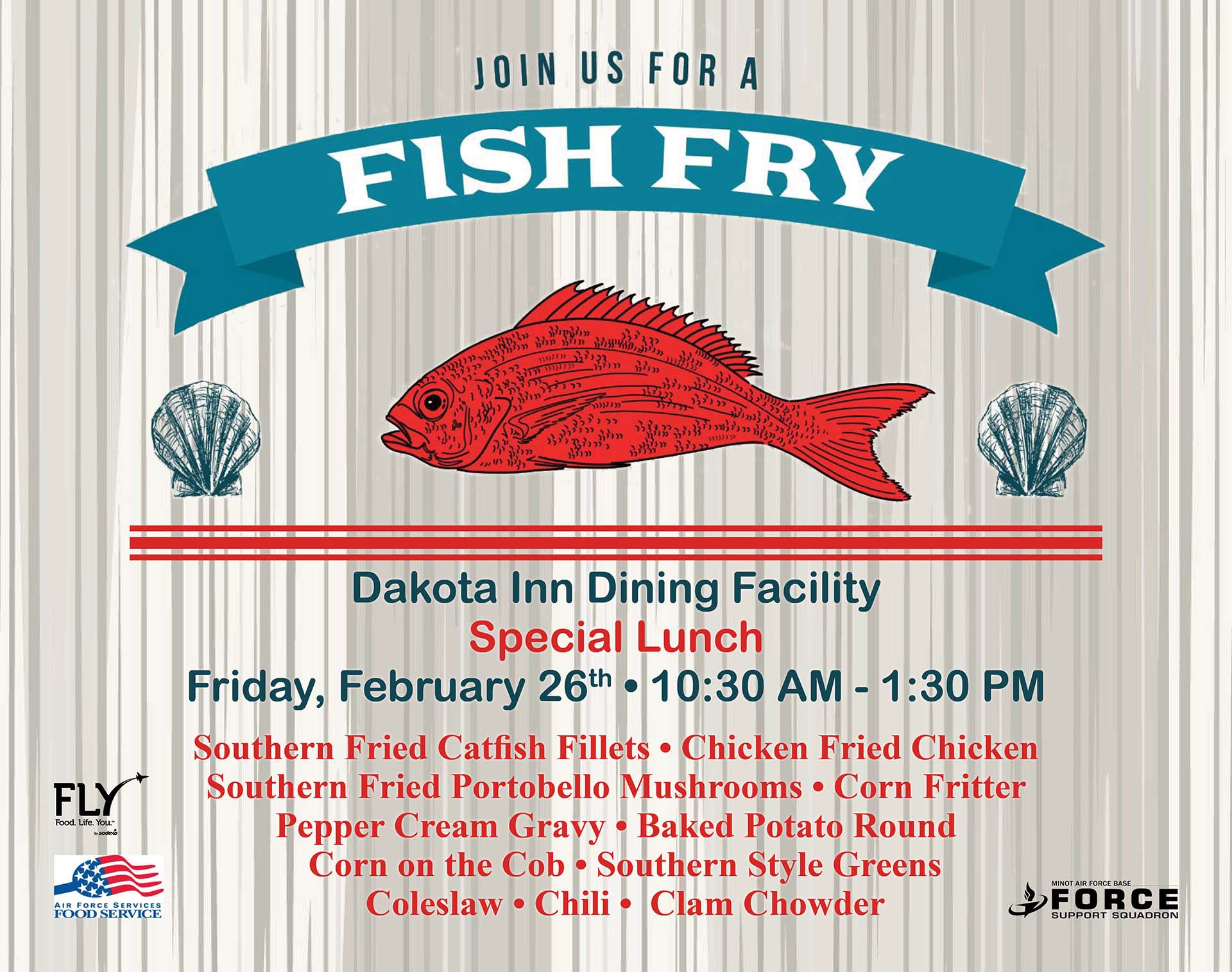 Fish Fry Special Lunch
