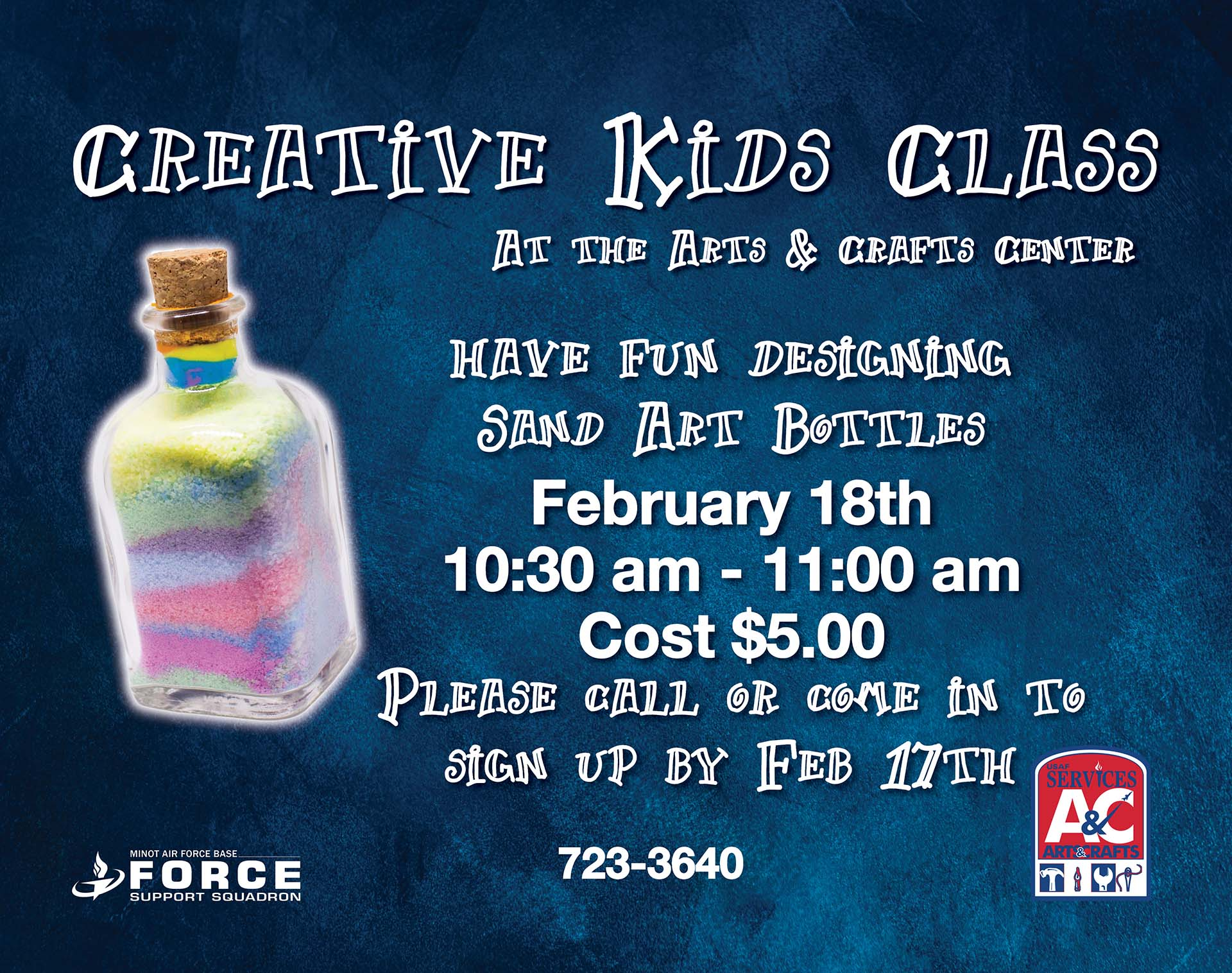Registration Closes: Creative Kids Class