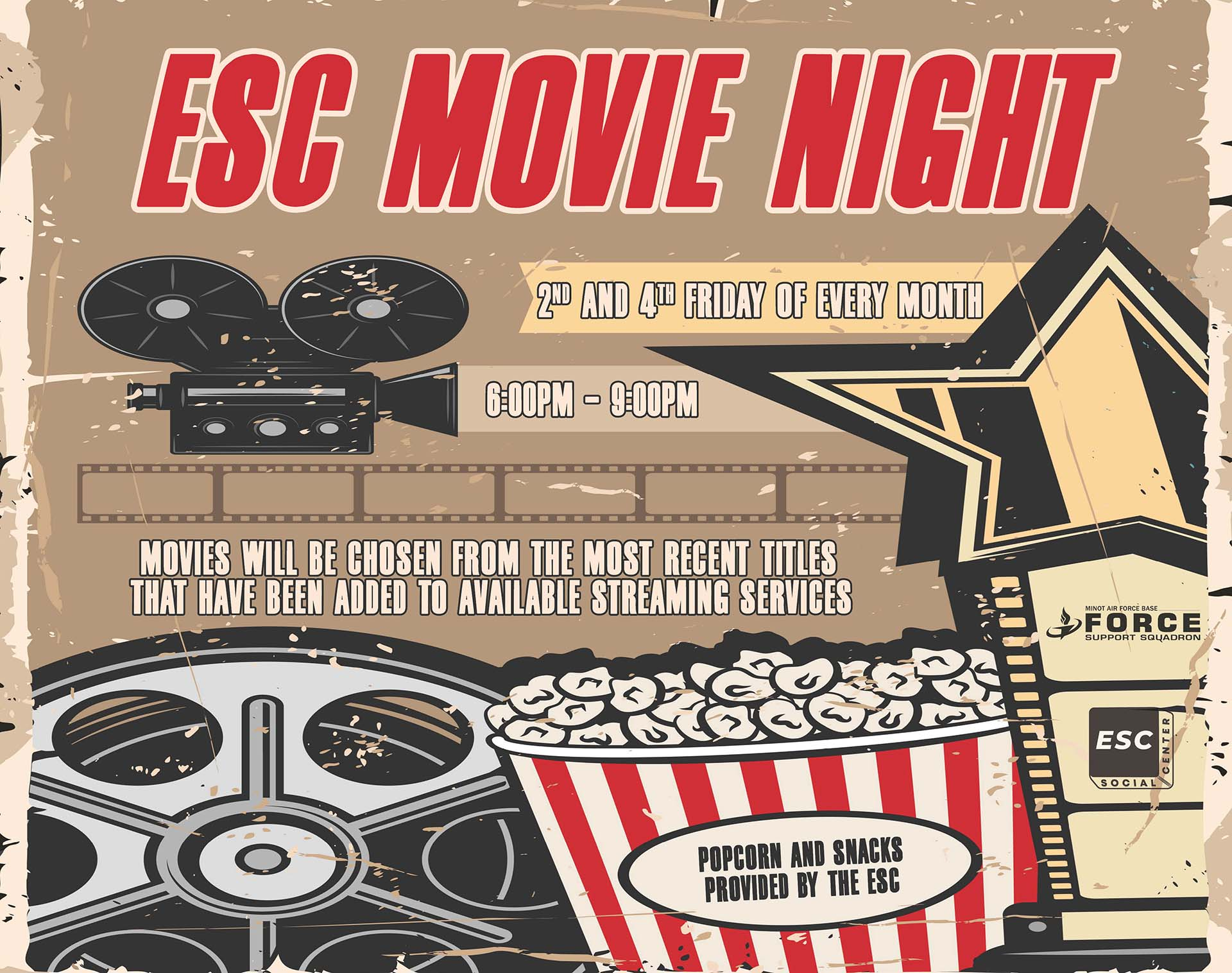 ESC Movie Night
