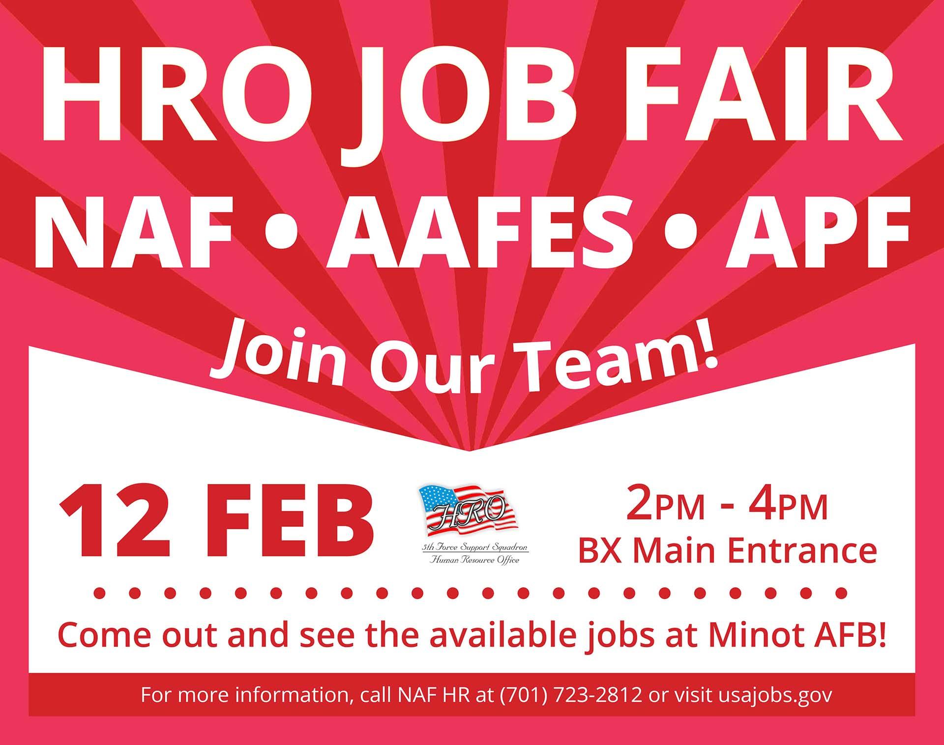 NAF HRO Job Fair