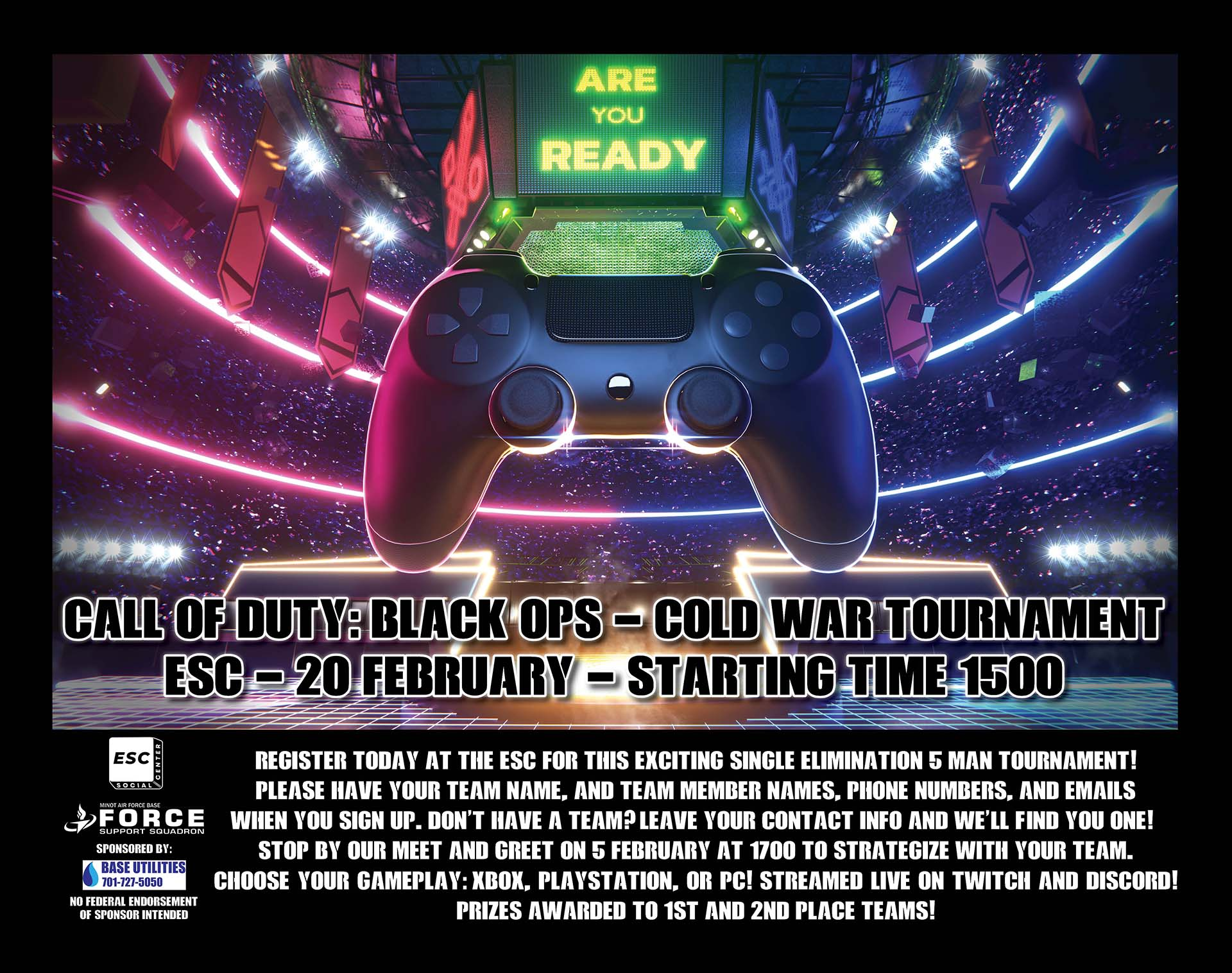Call of Duty: Black Ops - Cold War Tournament