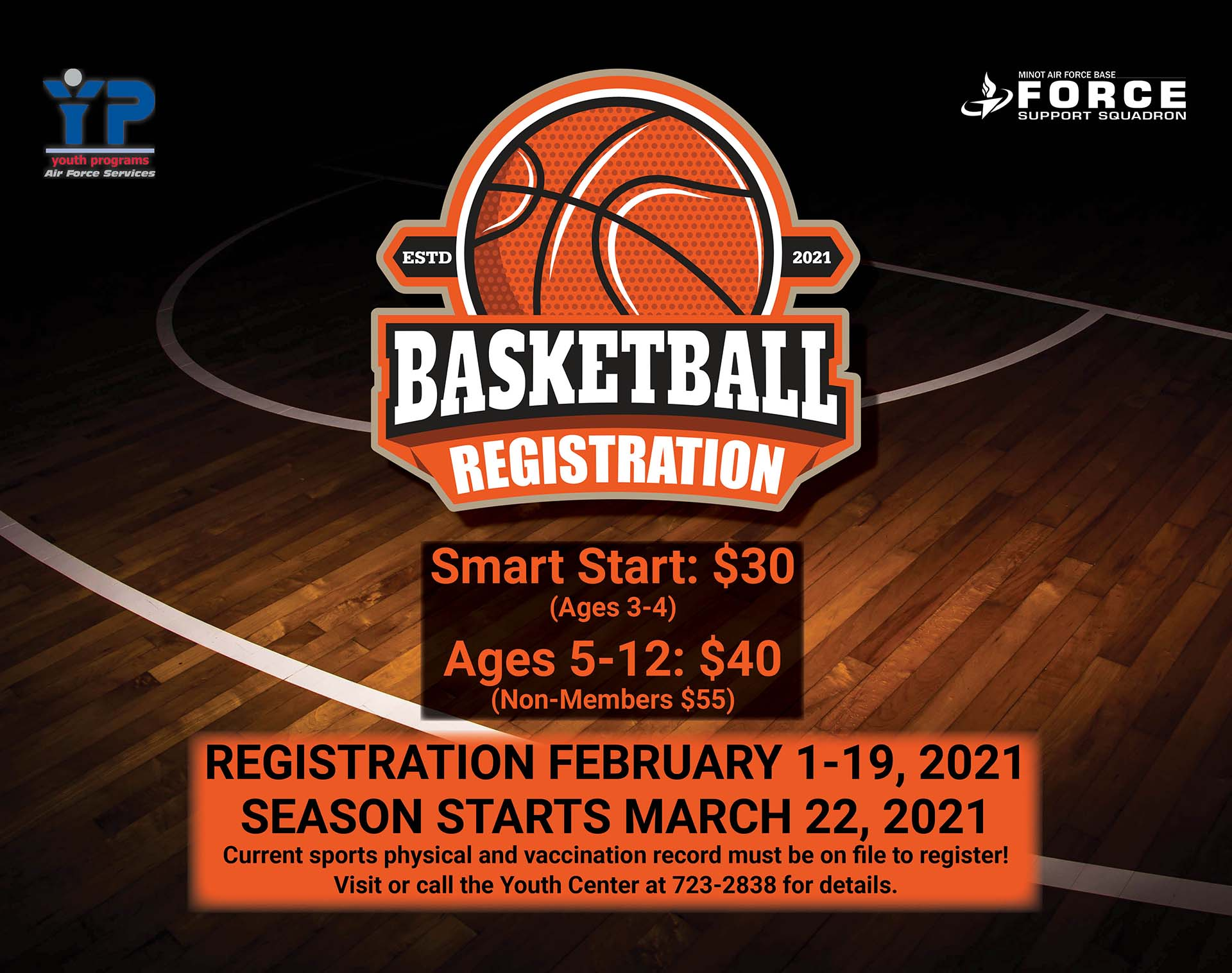 Youth Basketball Registration Opens