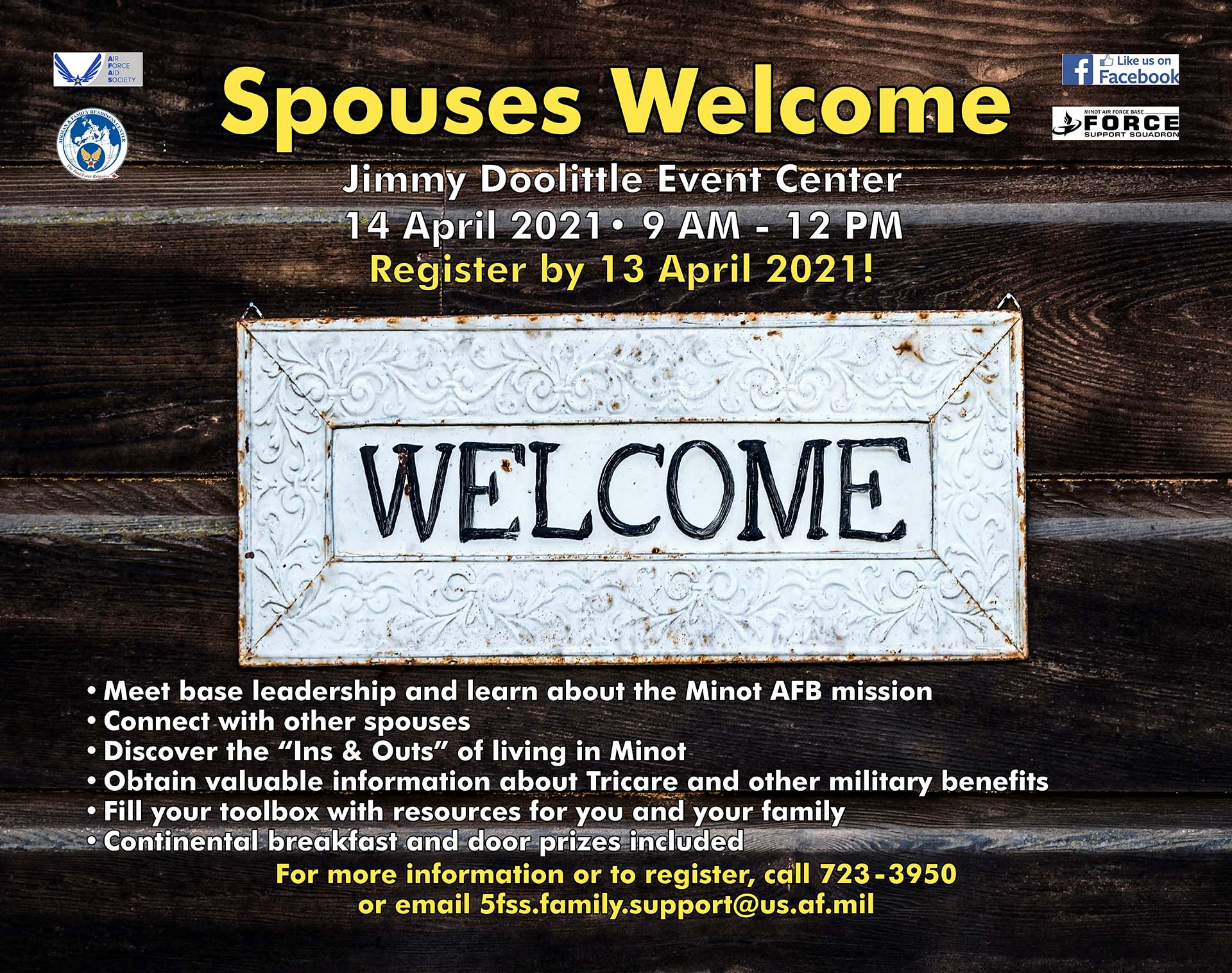 Spouses Welcome