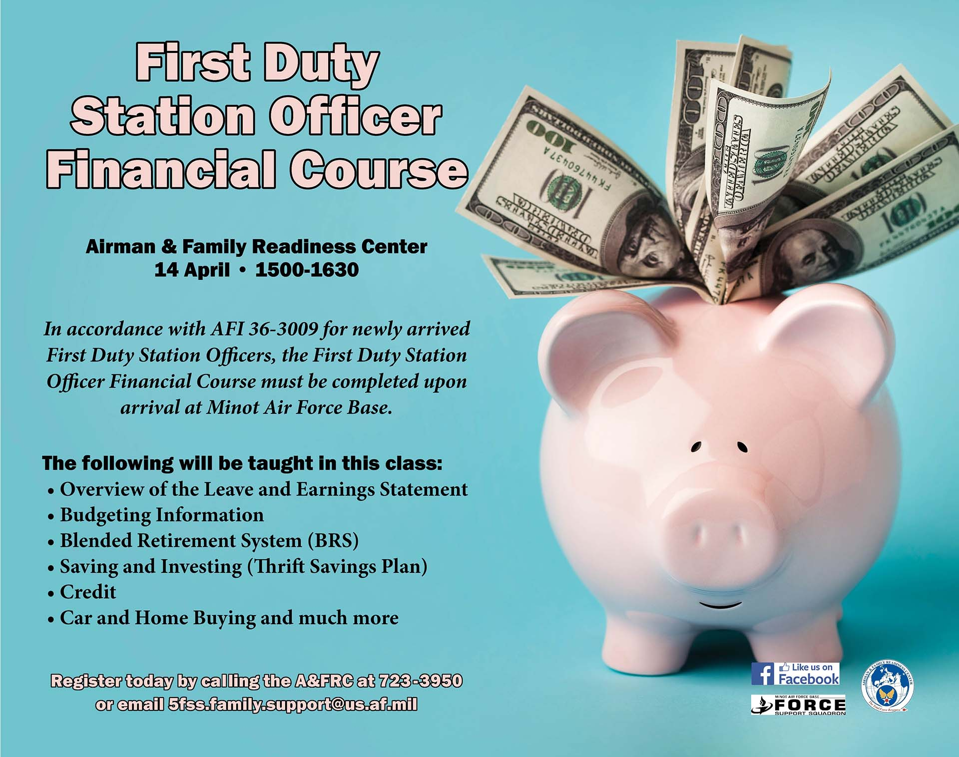 First Duty Station Officer Financial Course