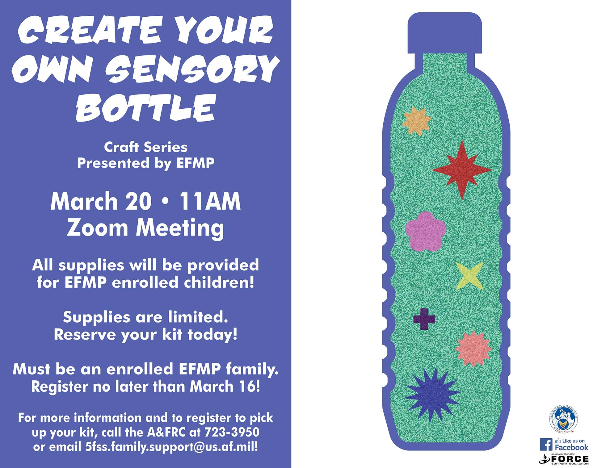 EFMP - Create Your Own Sensory Bottle