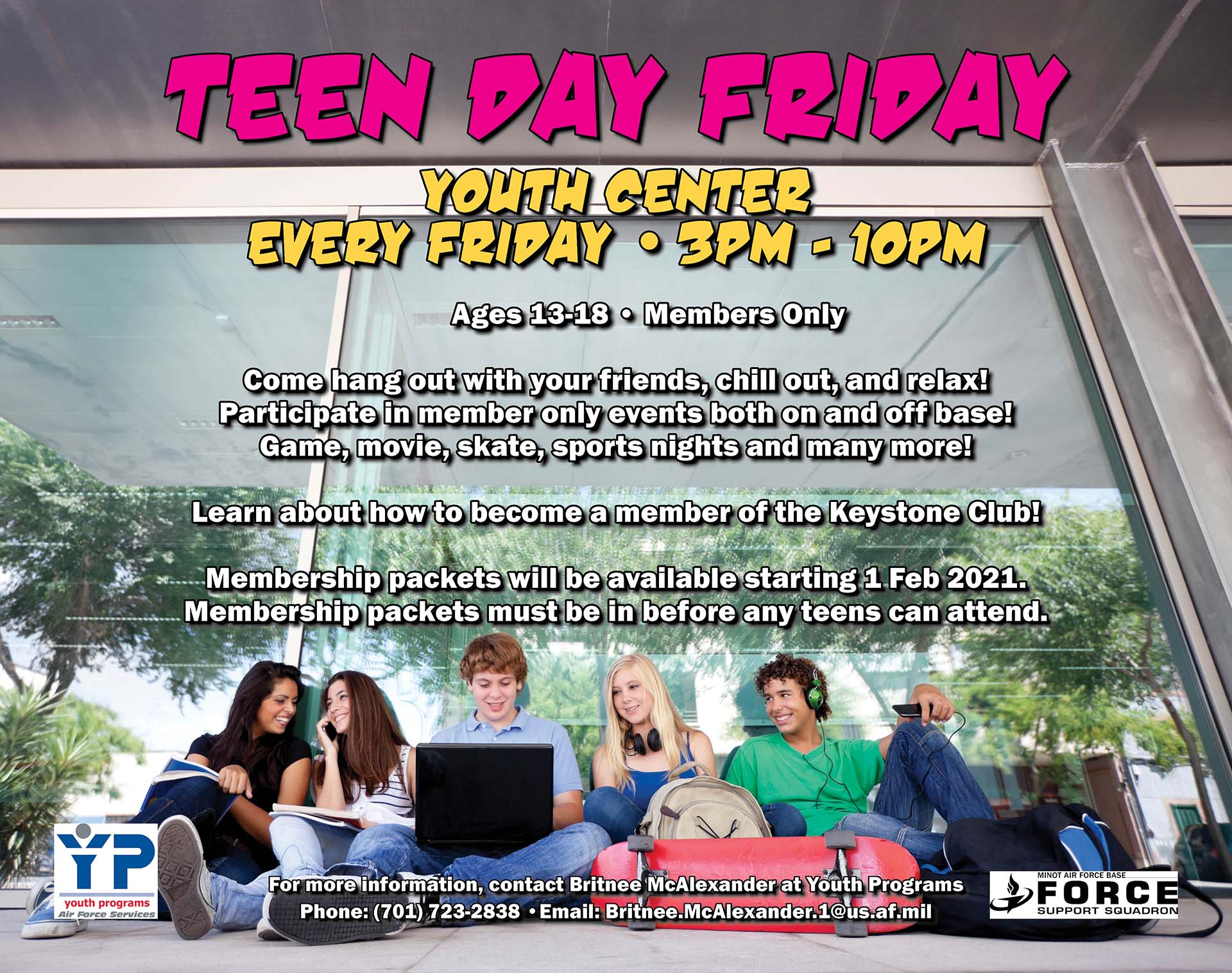 Teen Day Friday