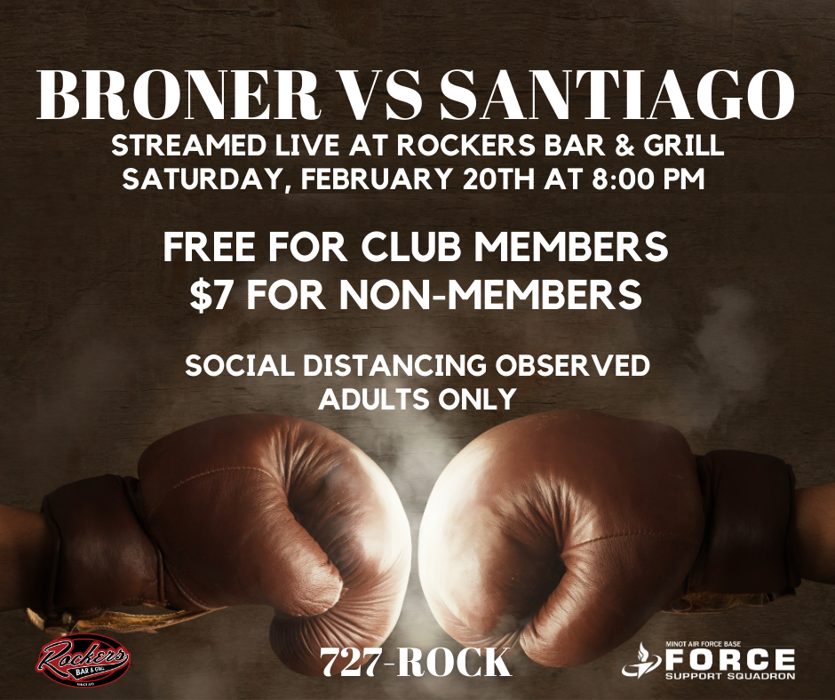 Broner vs. Santiago Boxing Match