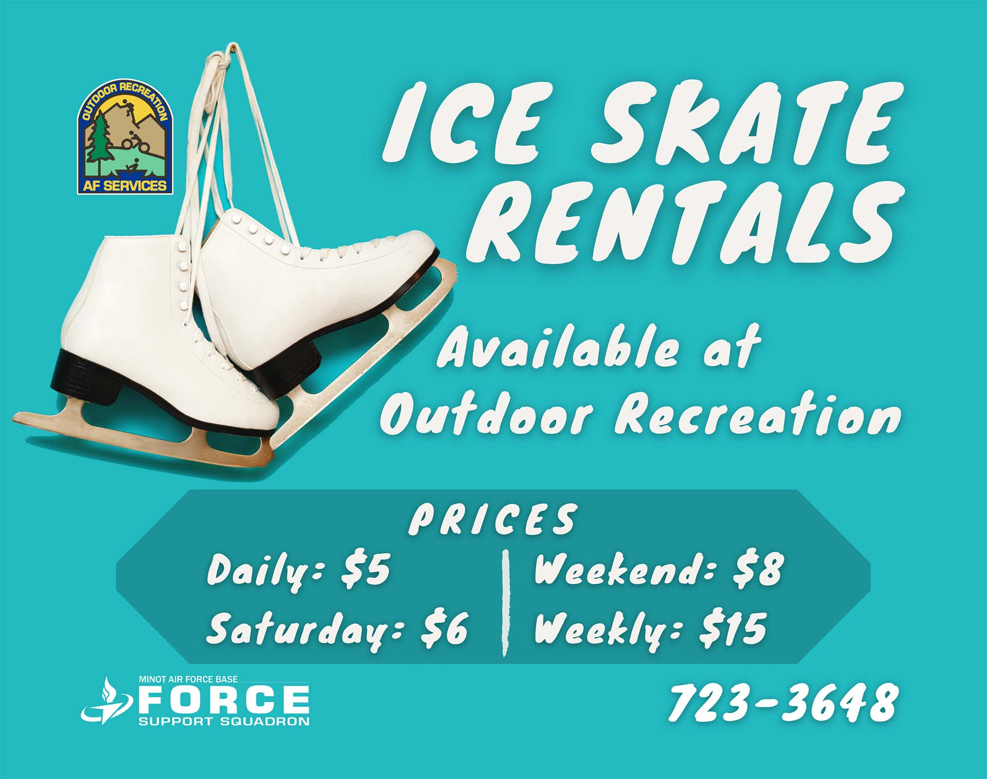 Outdoor Recreation - Ice Skate Rentals