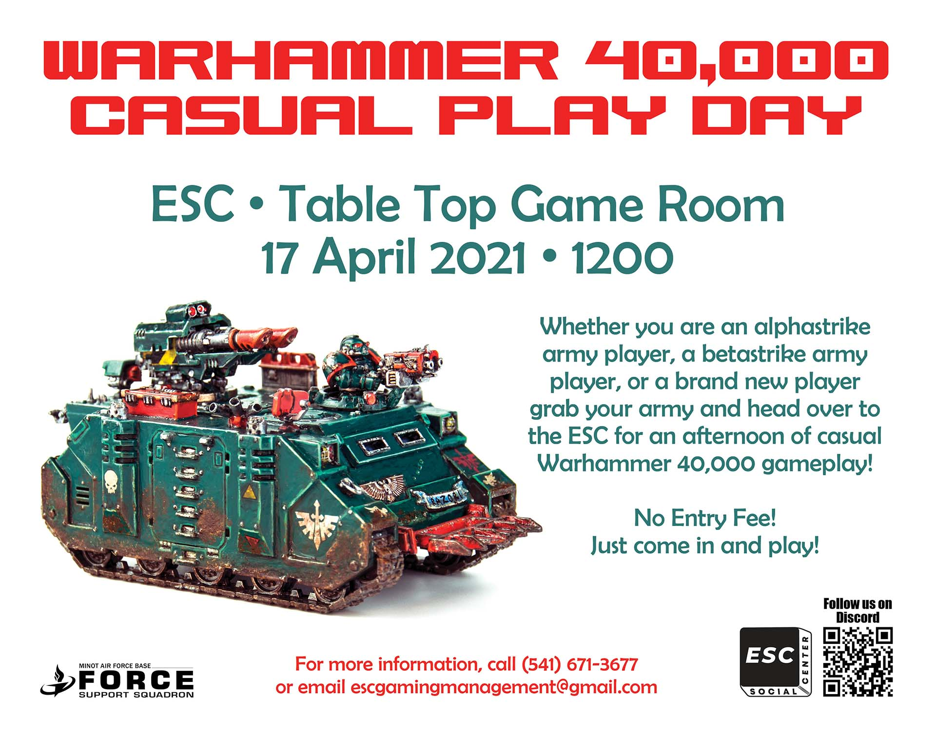 Warhammer 40,000 Casual Play Day