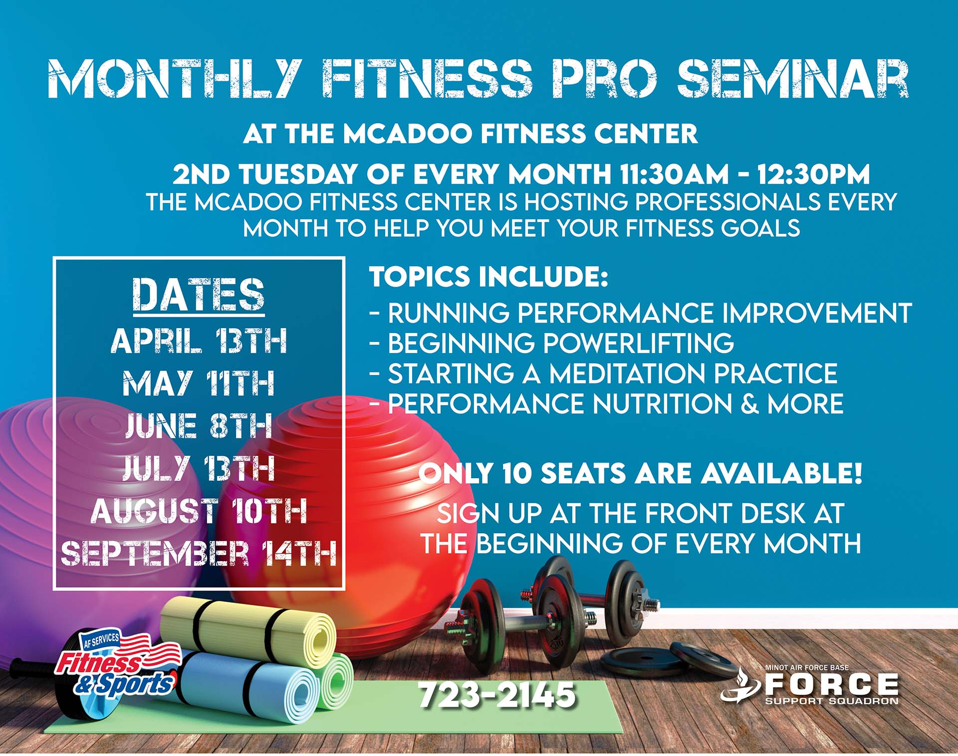 09.14 Monthly Fitness Pro Seminar