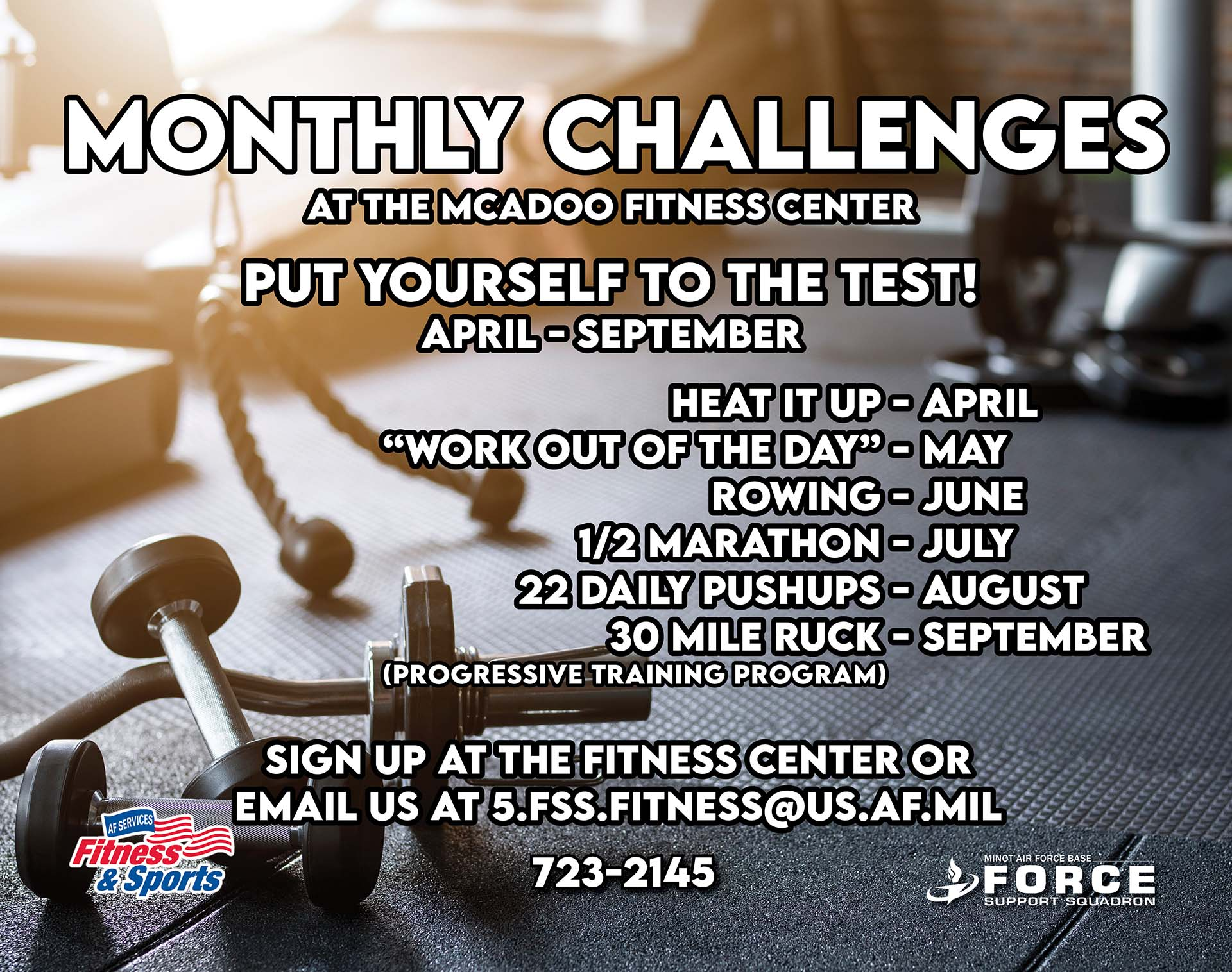 09.30 Monthly Challenges
