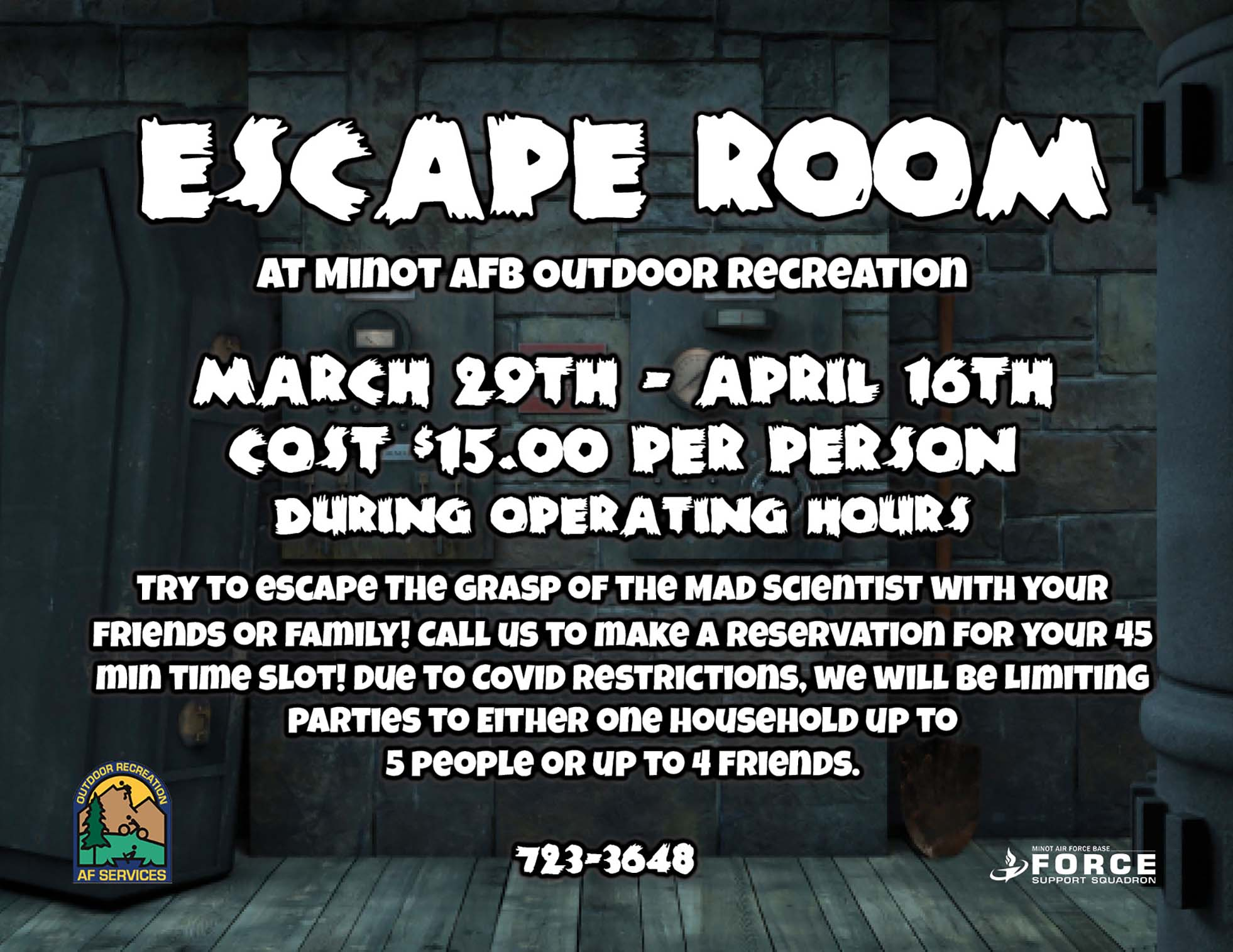Escape Room at ODR