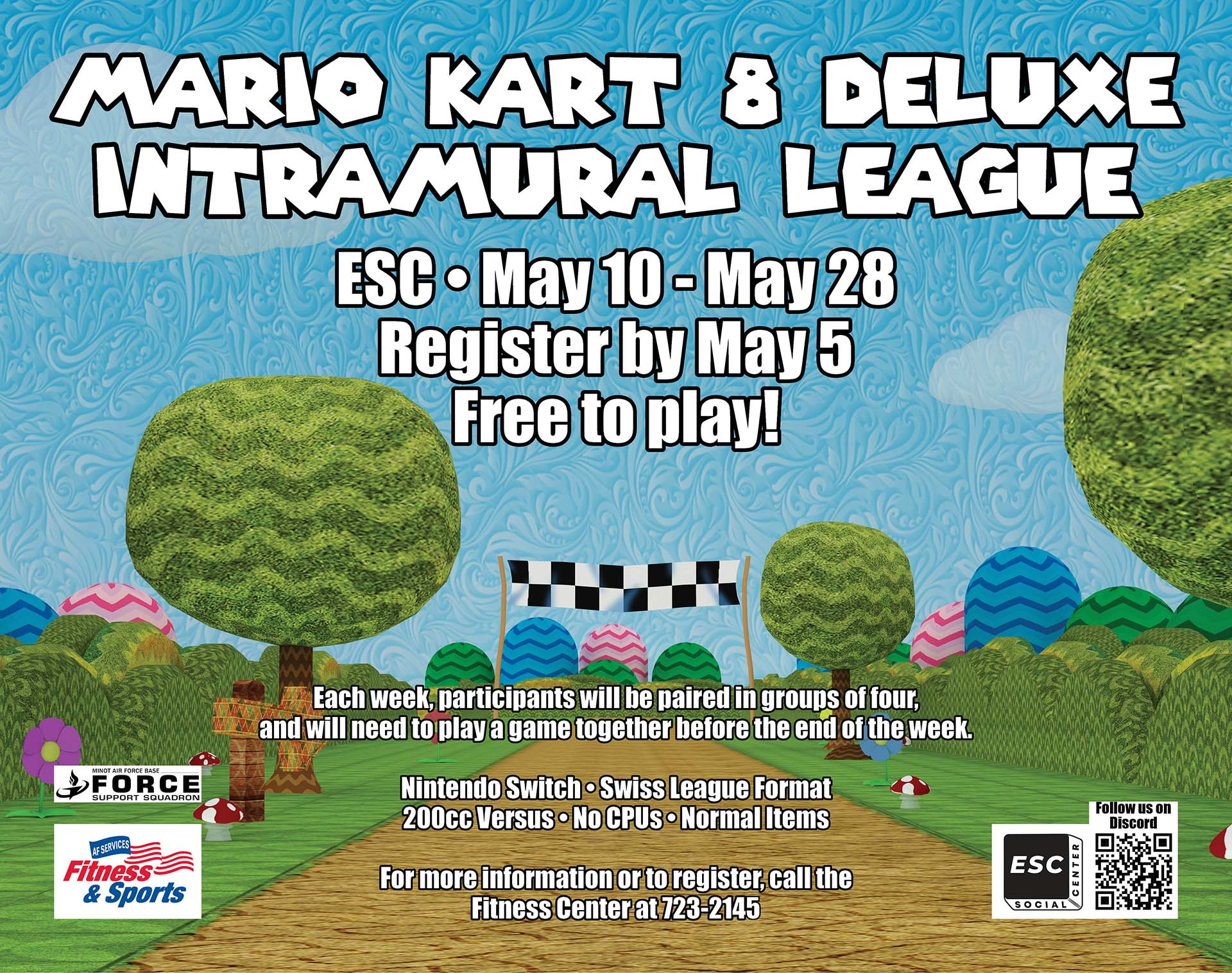 05.10-05.28 Mario Kart 8 Deluxe Intramural League