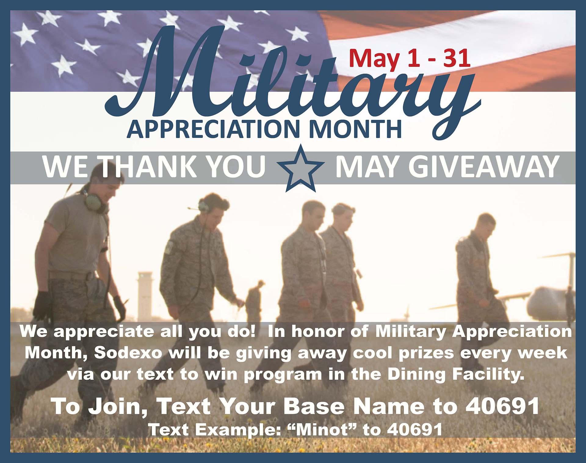 05.01-31 Military Appreciation Month