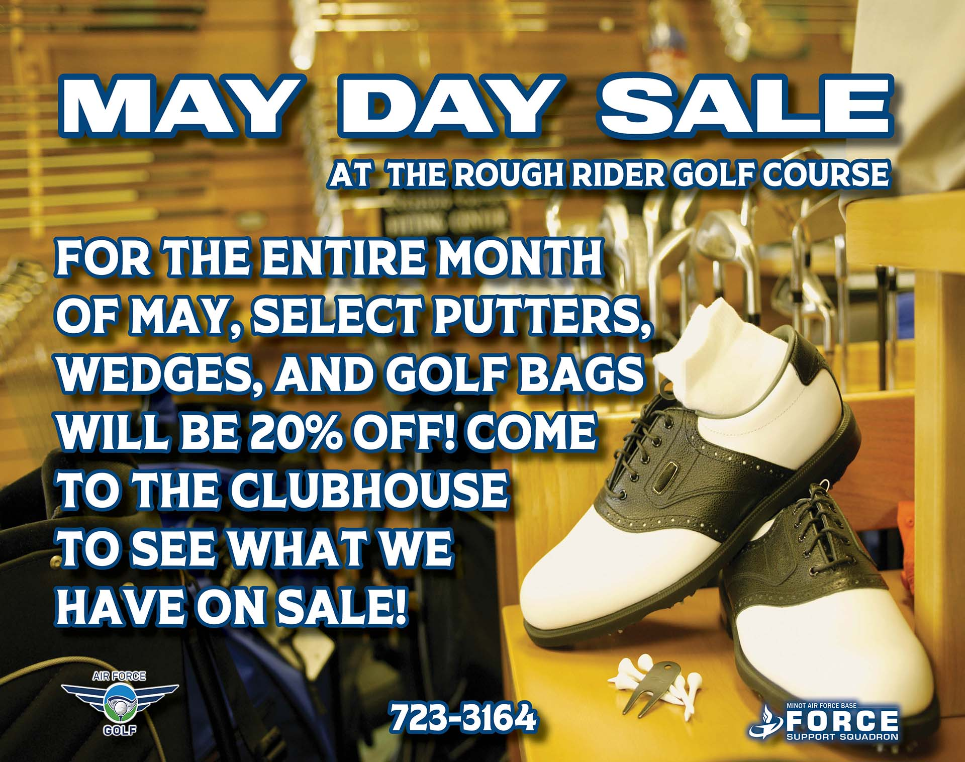 May Day Sale Begins