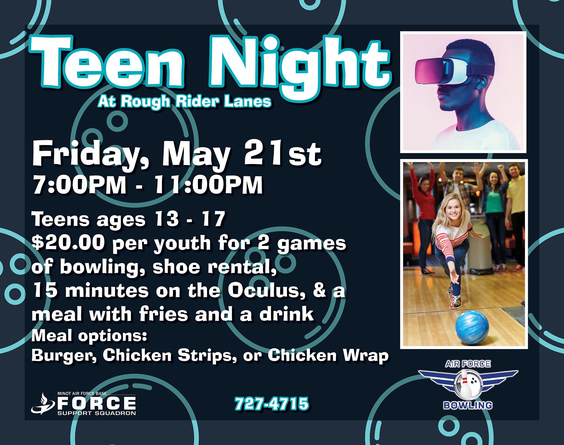 Teen Night at Bowl
