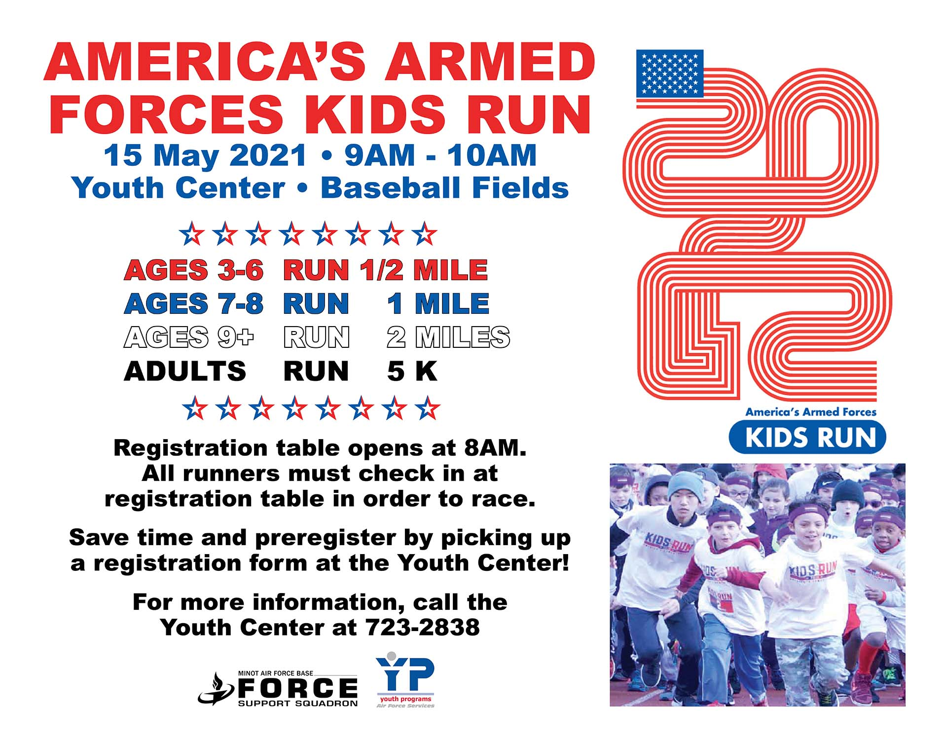 America's Armed Forces Kids Run