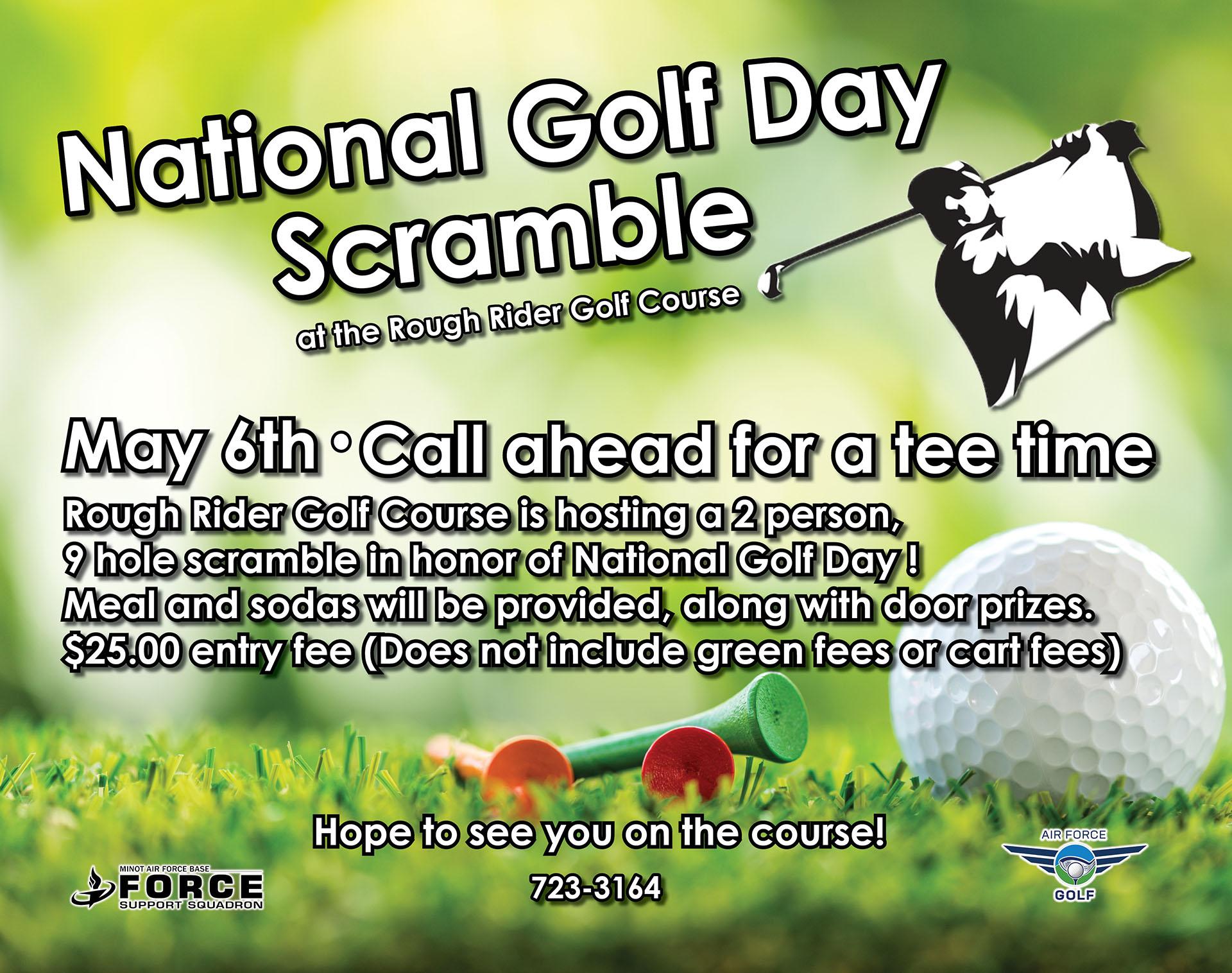 National Golf Day Scramble