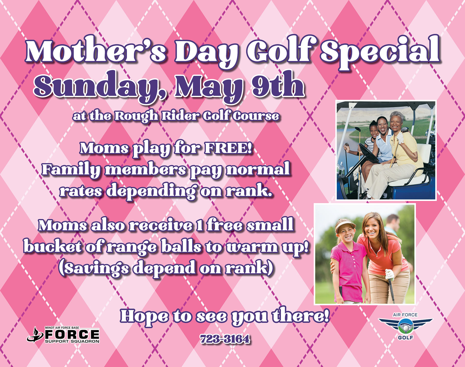 Mother's Day Golf Special