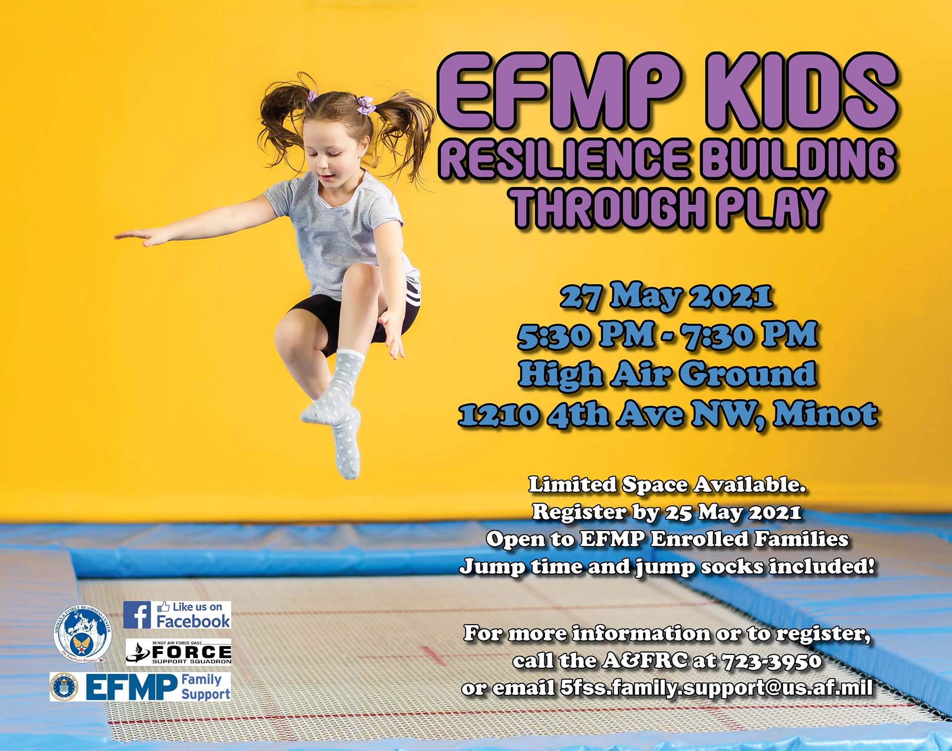 EFMP Kids - Resilience Building Through Play
