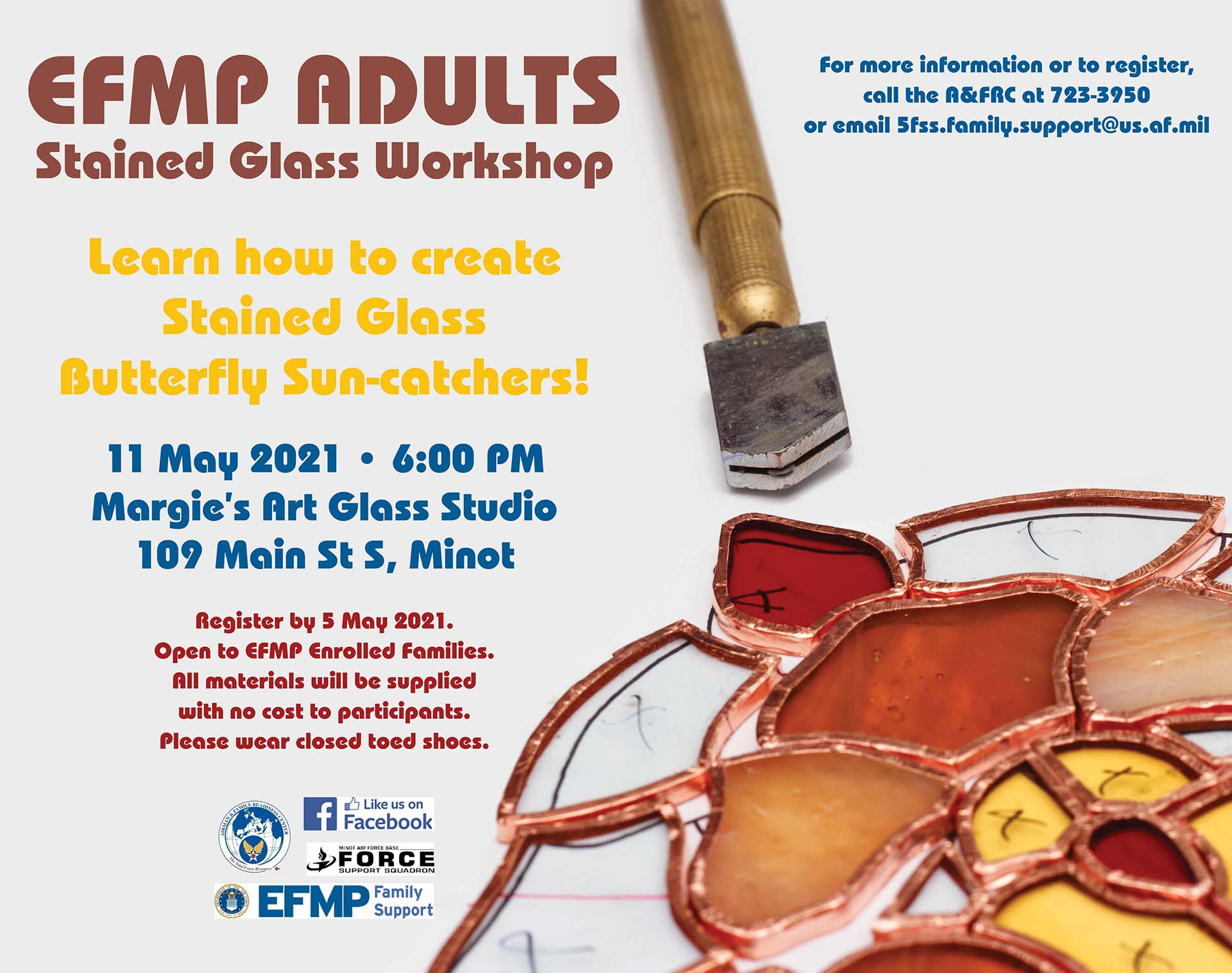 EFMP Adults - Stained Glass Workshop