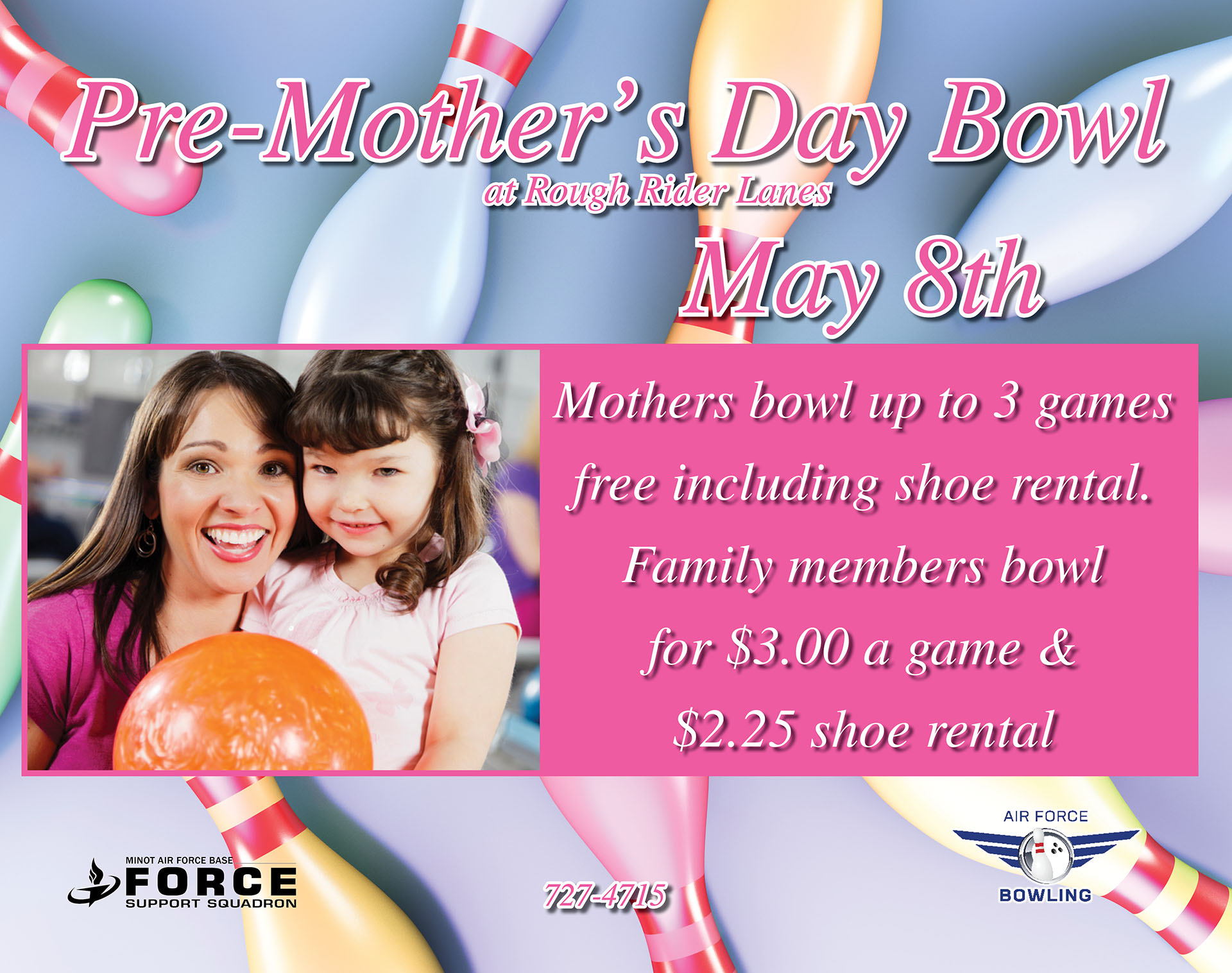 Pre-Mother's Day Bowling Special