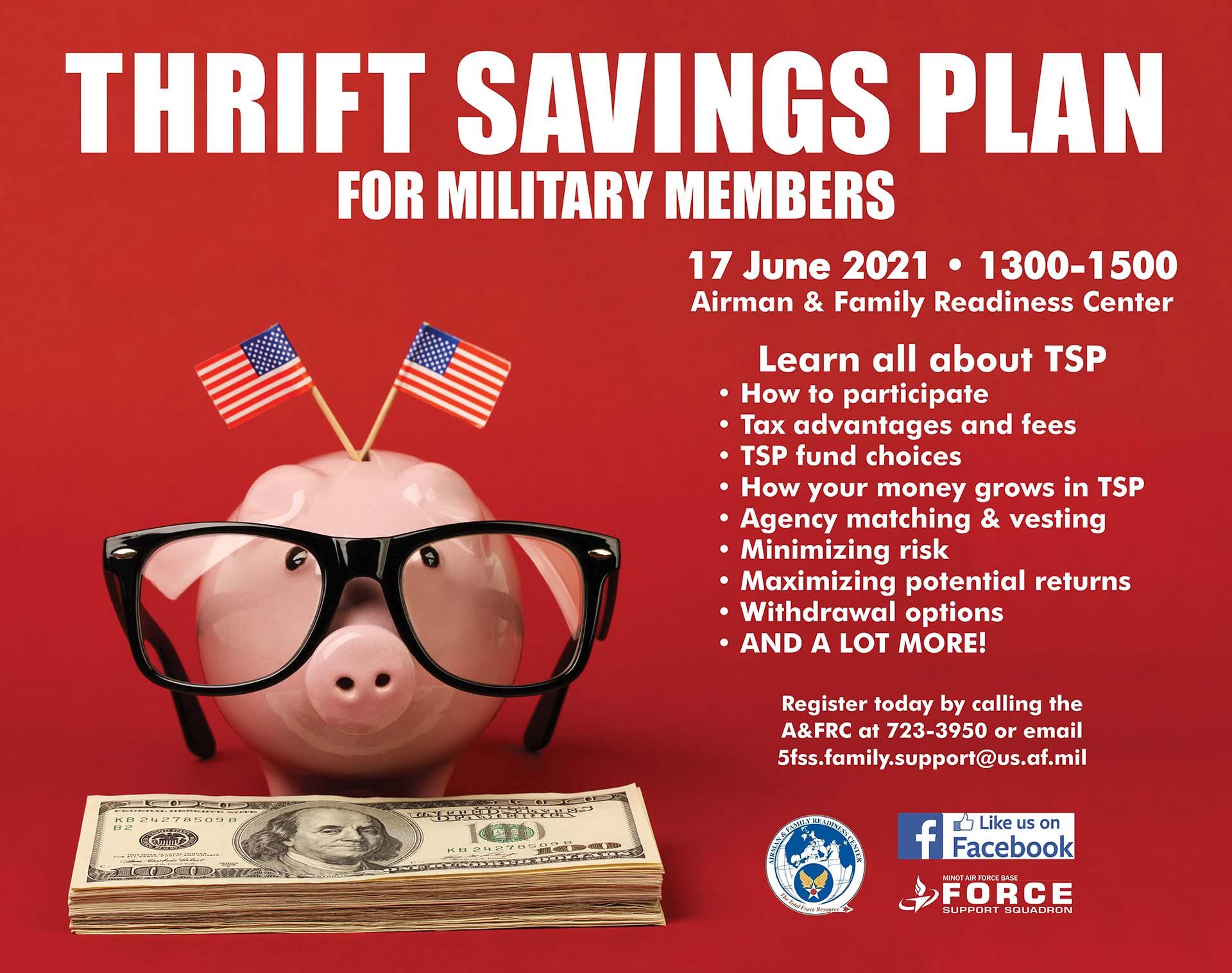 Thrift Savings Plan for Military Members