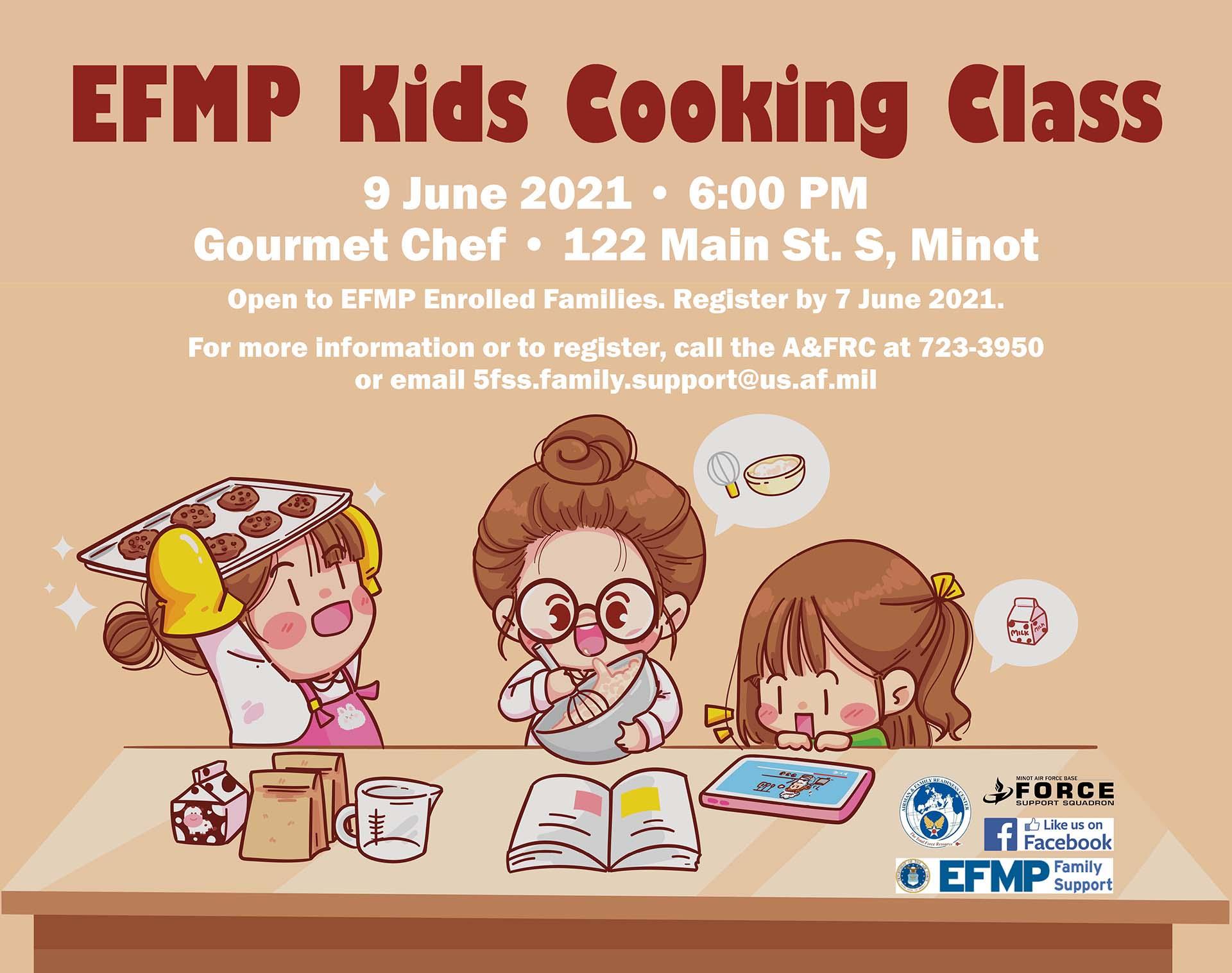 EFMP Kids Cooking Class