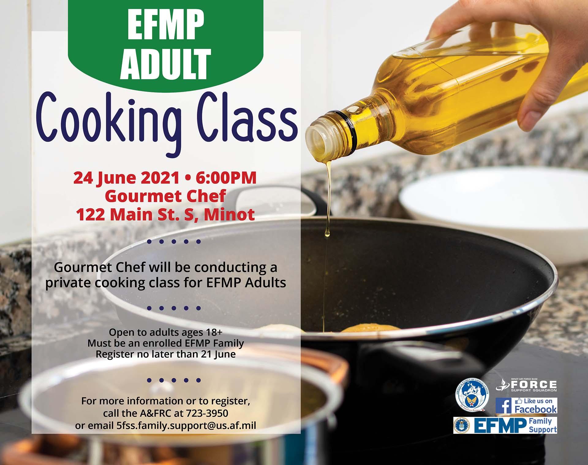 EFMP Adult Cooking Class