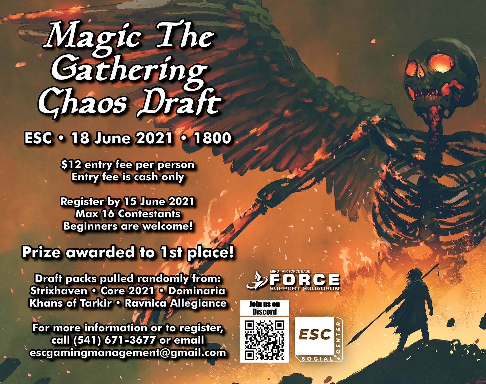 Magic The Gathering Chaos Draft