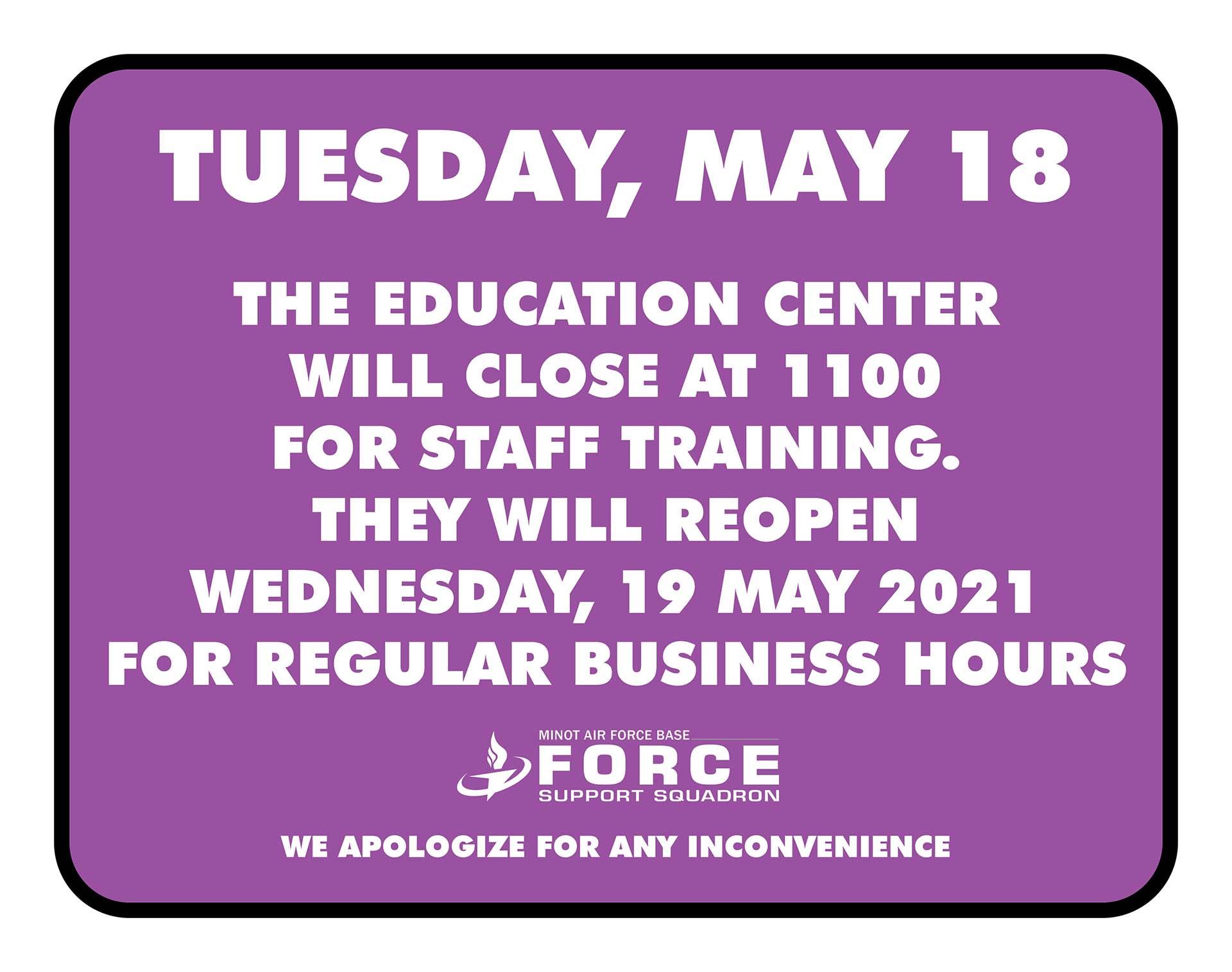 05.18 Education Center - Closed