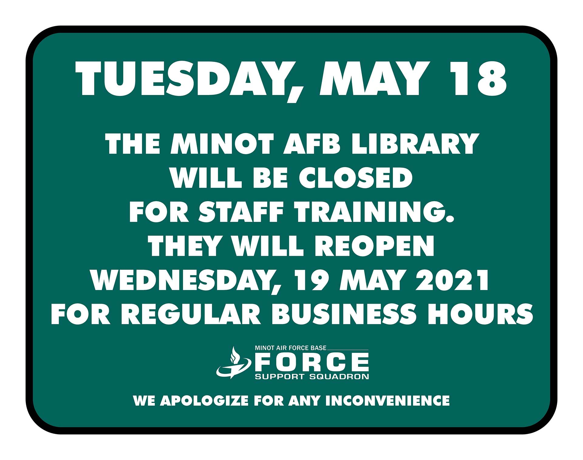 05.18 Library - Closed