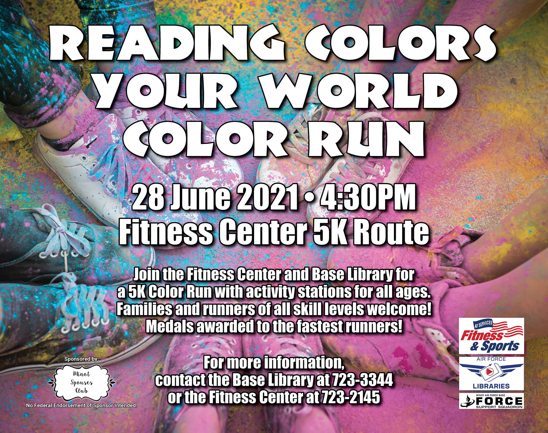 Reading Colors Your World Color Run