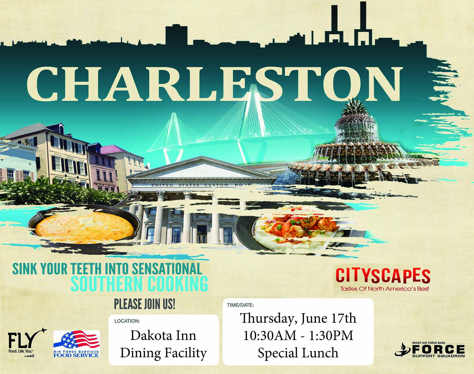 Cityscapes Charleston Special Lunch