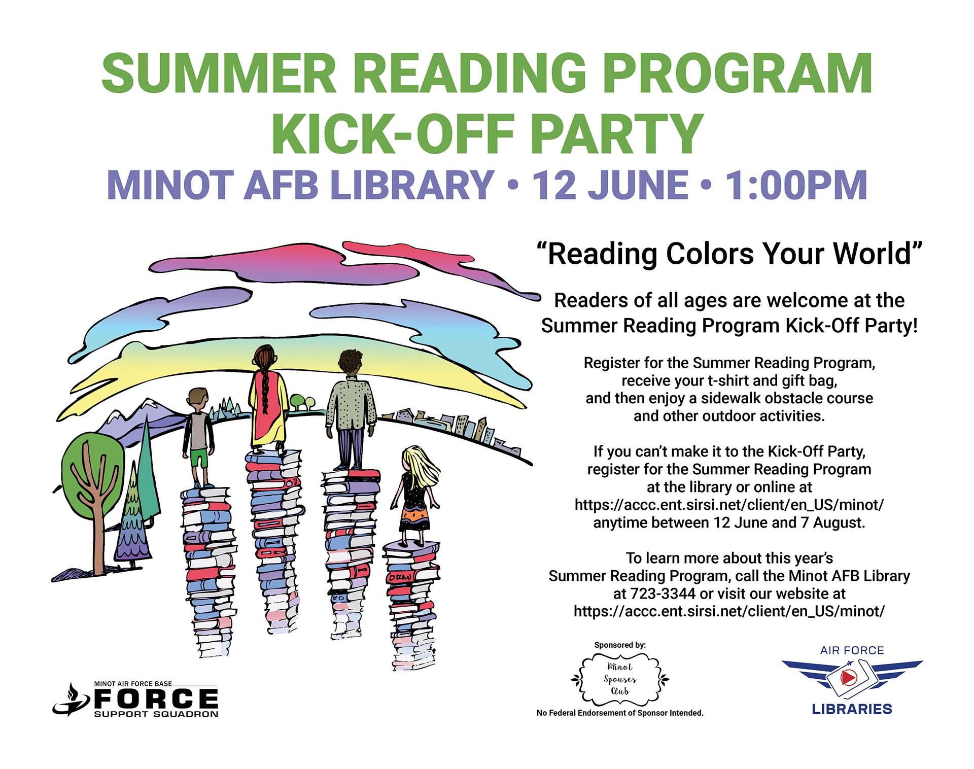 Summer Reading Program Kick-Off Party
