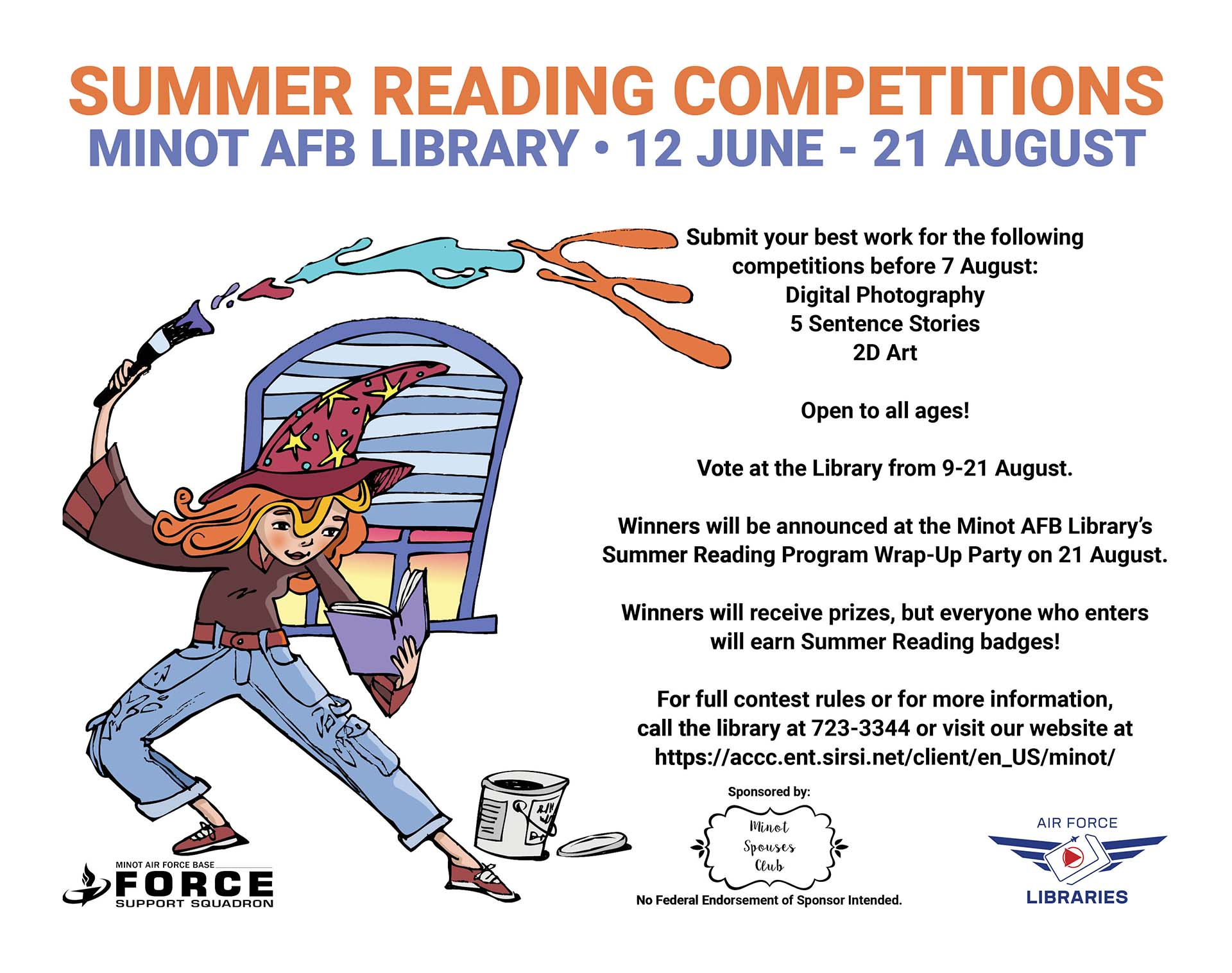 Summer Reading Program Competitions End