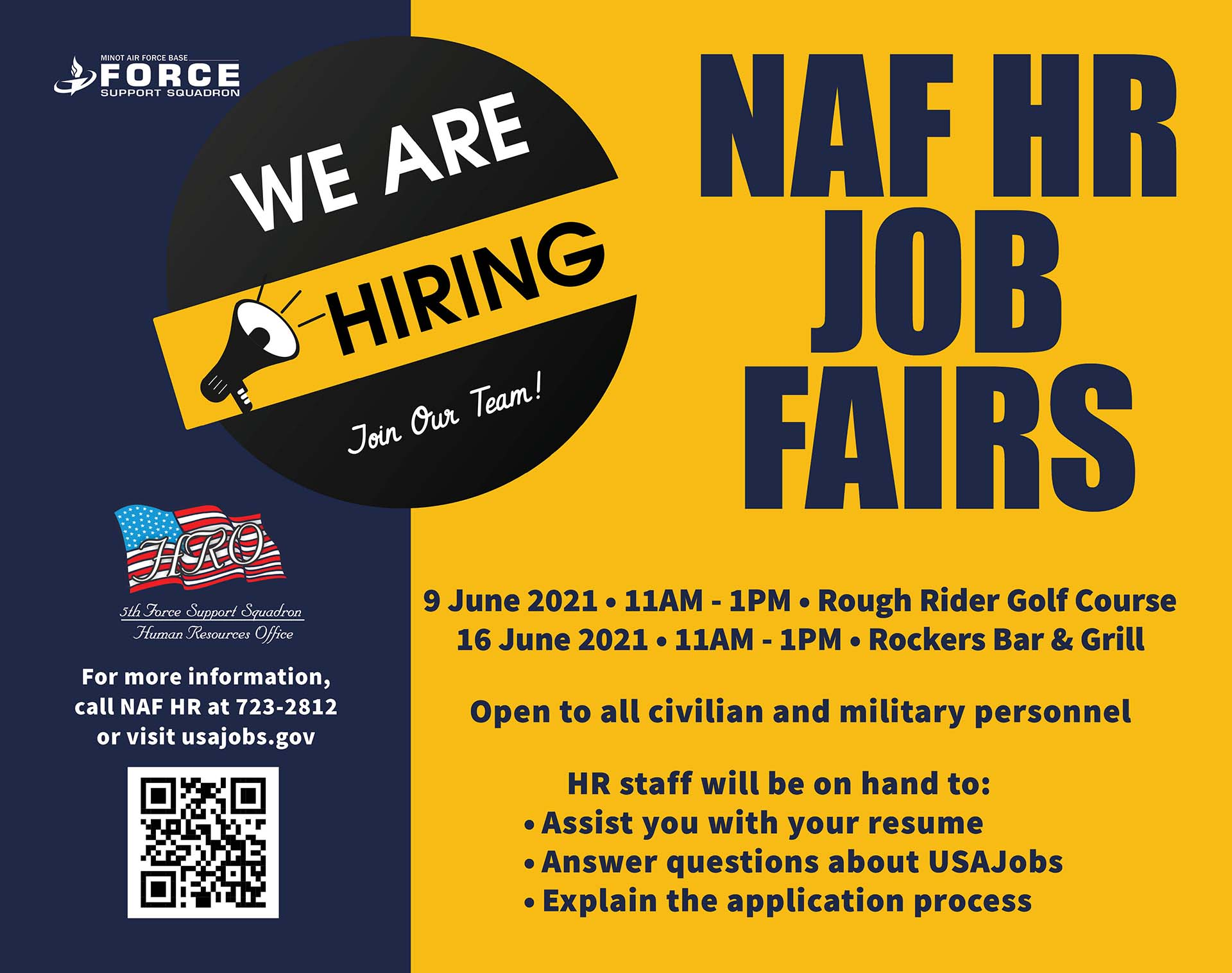 NAF HR Job Fair