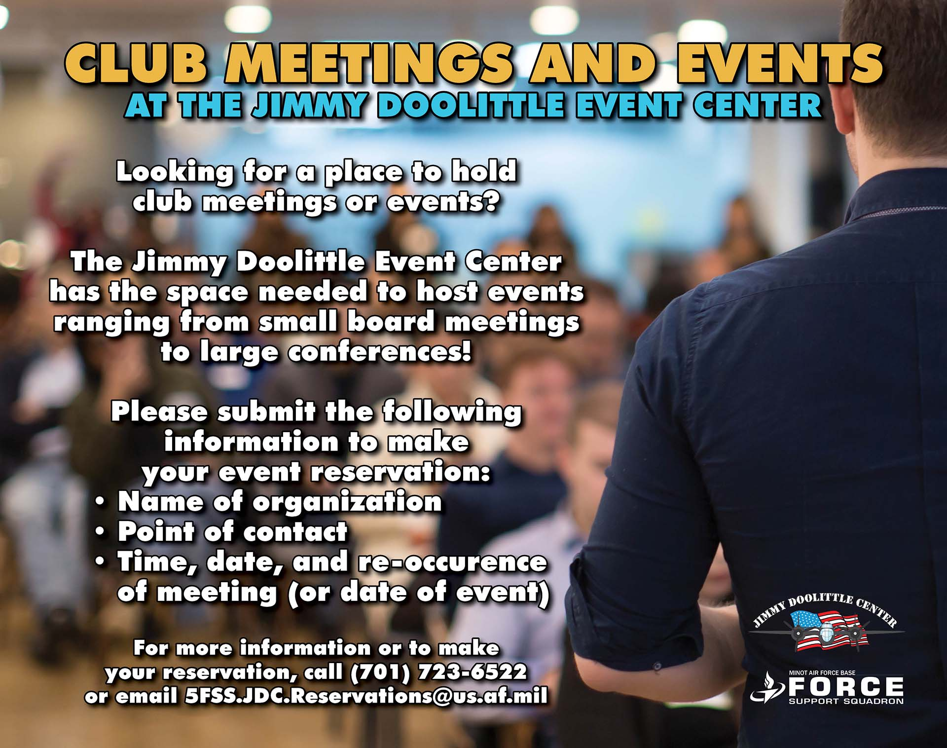 JDC - Club Meetings and Events