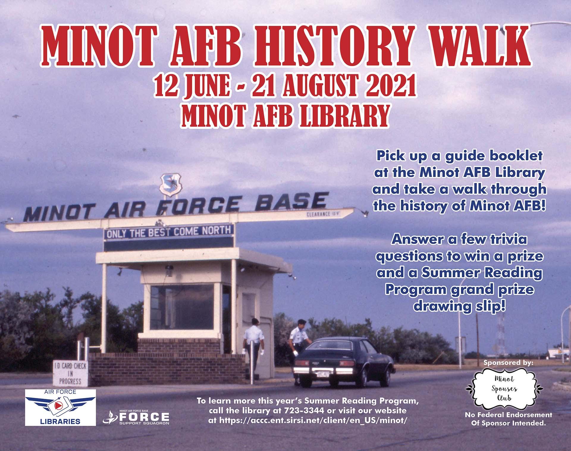 Minot AFB History Walk Begins