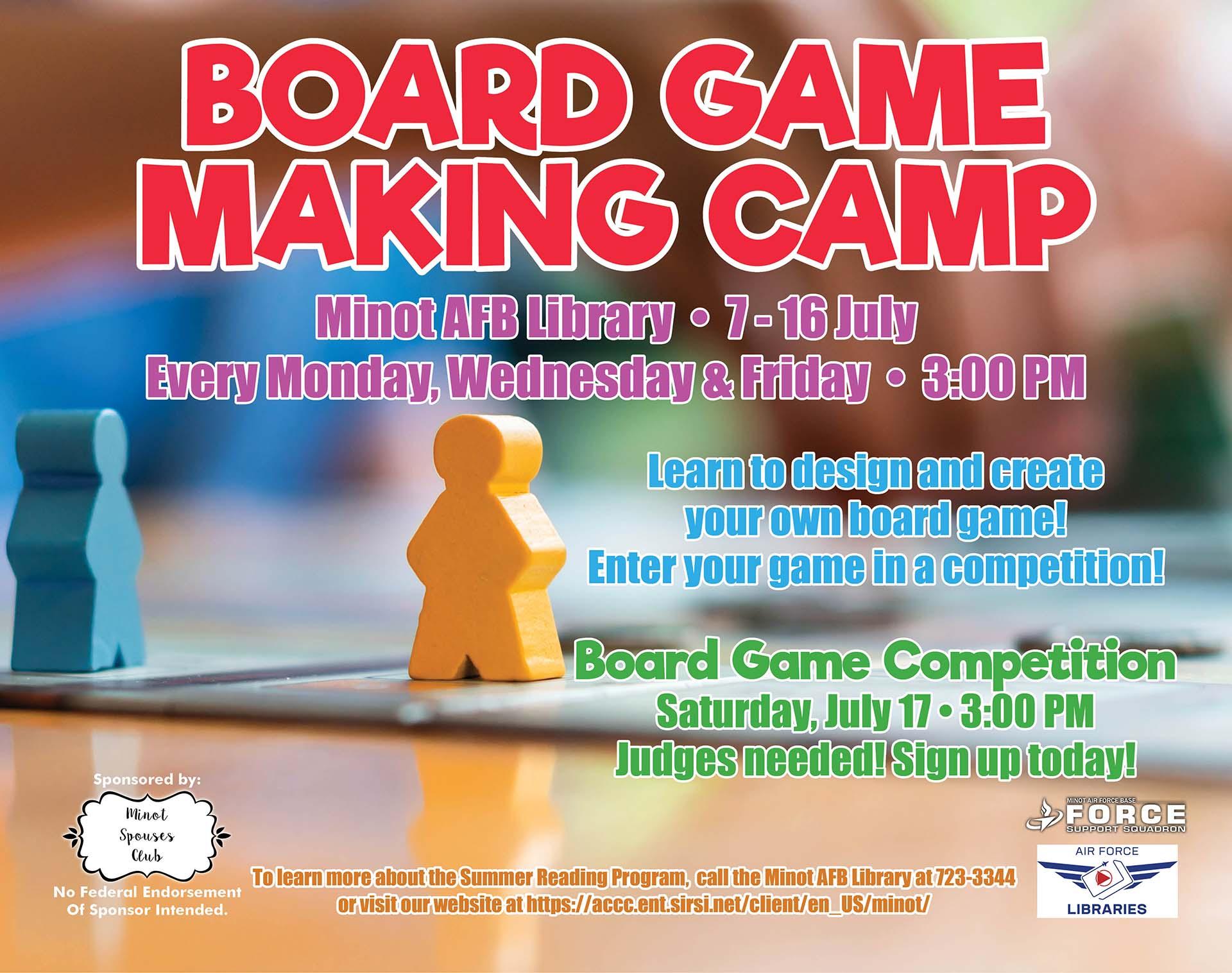 Board Game Making Class