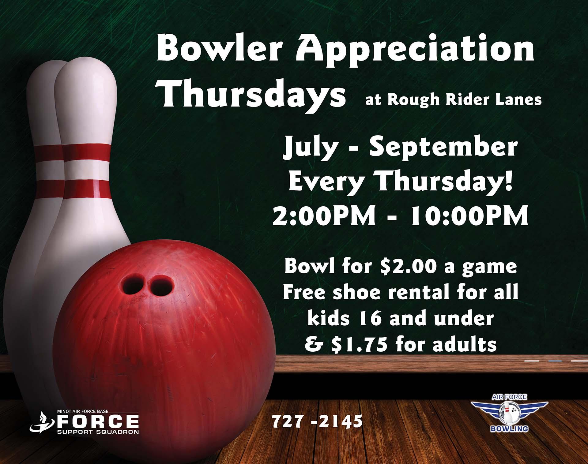 Bowler Appreciation Thursday