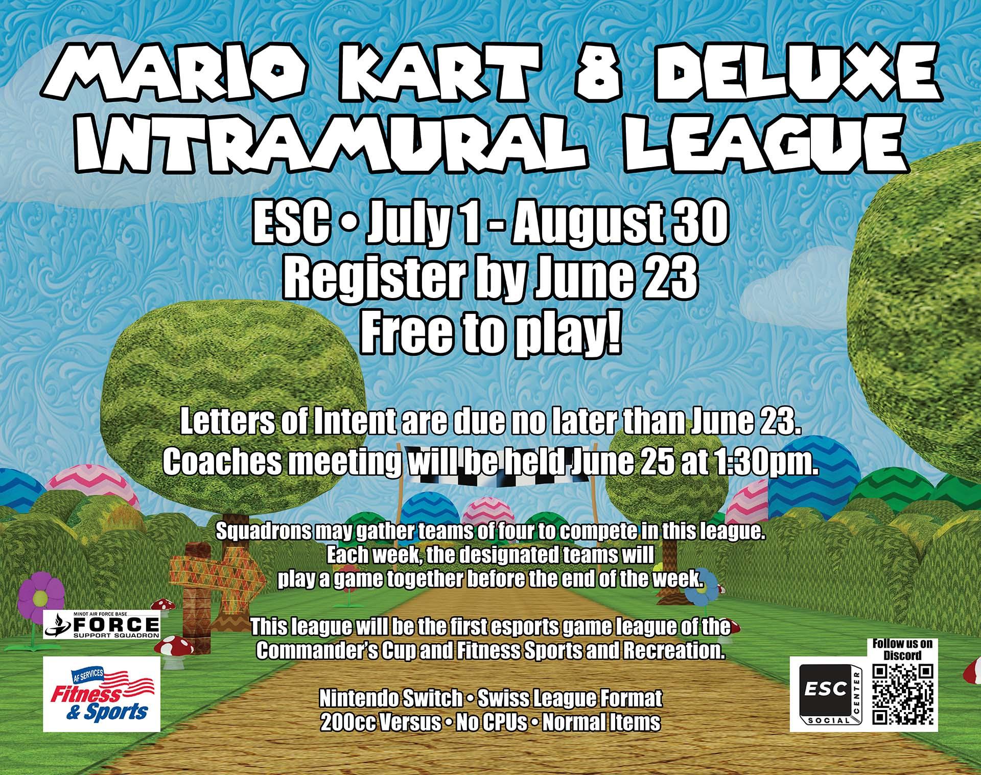 06.23 Mario Kart 8 Deluxe Intramural League - Extended