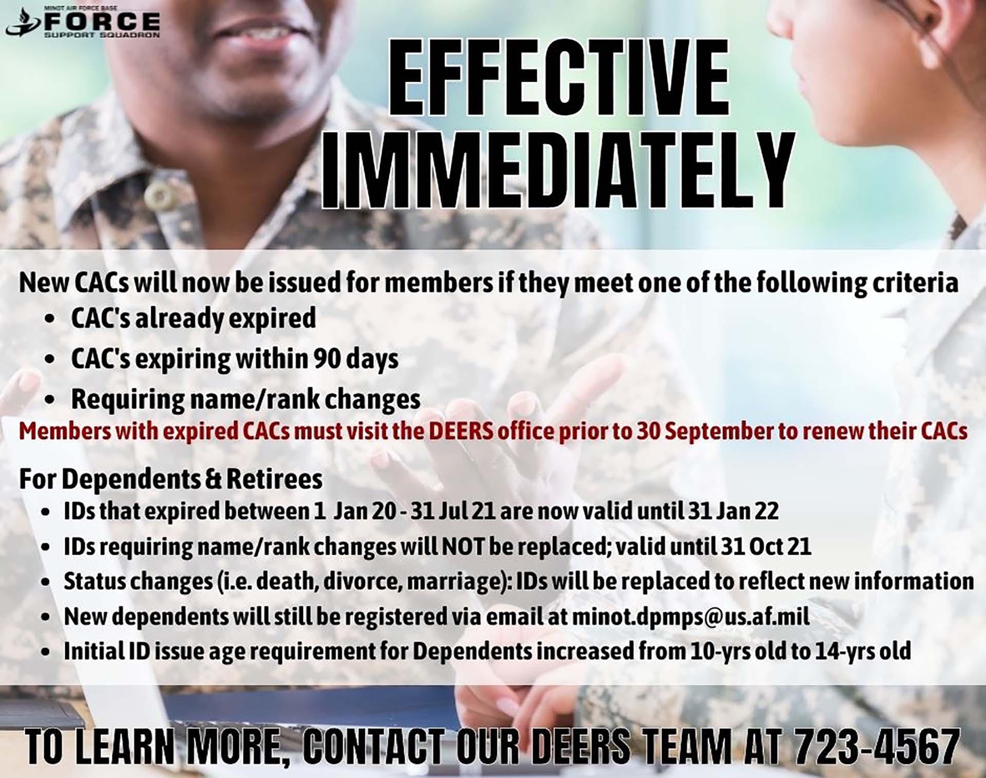 DEERS ID Card Issuance