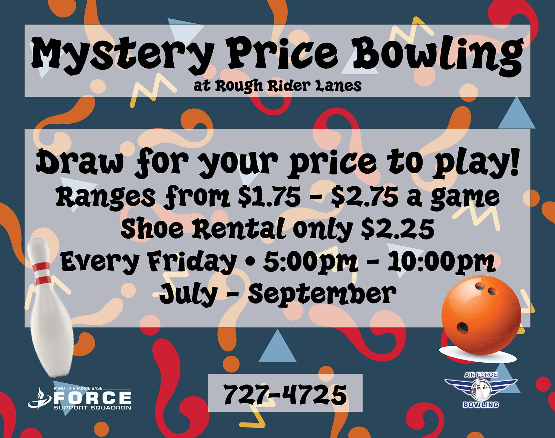 Mystery Price Bowling