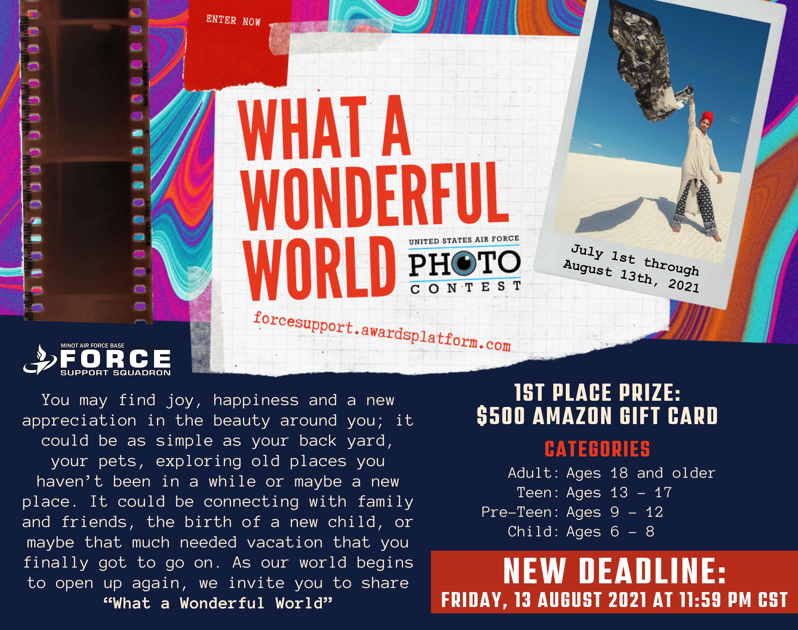 AF Photo Contest - AUG